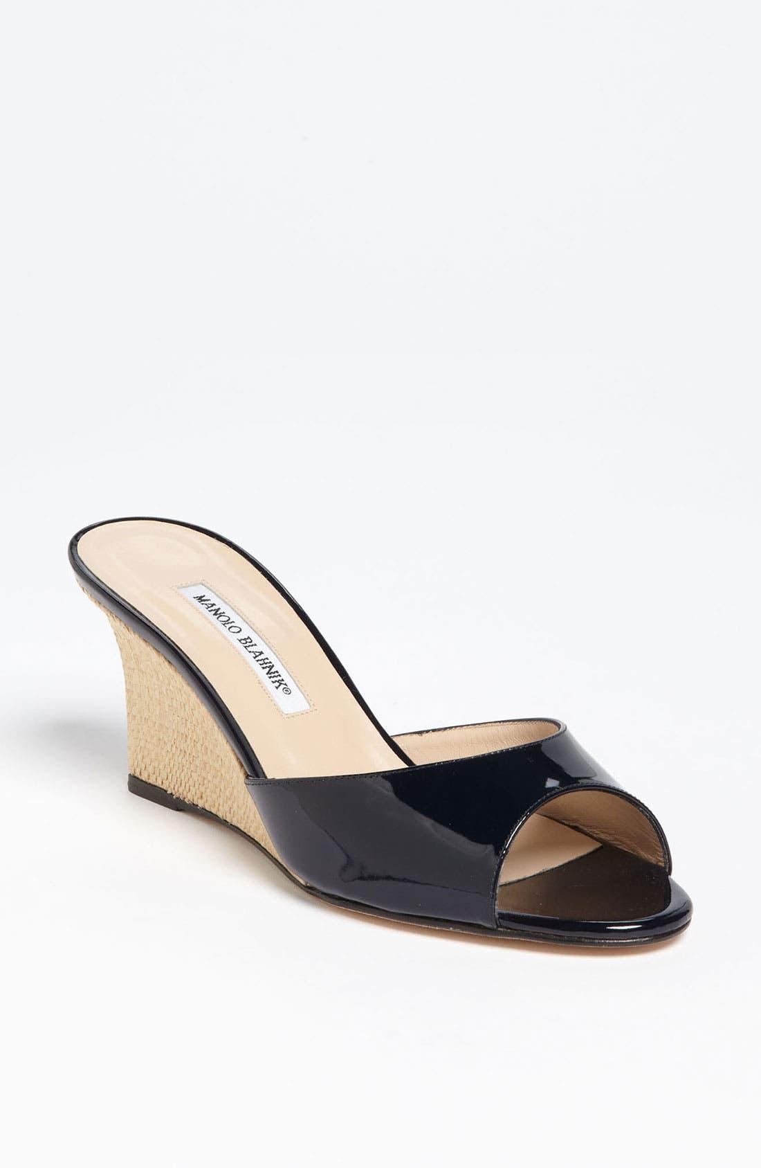 Main Image - Manolo Blahnik 'Falsonol' Sandal