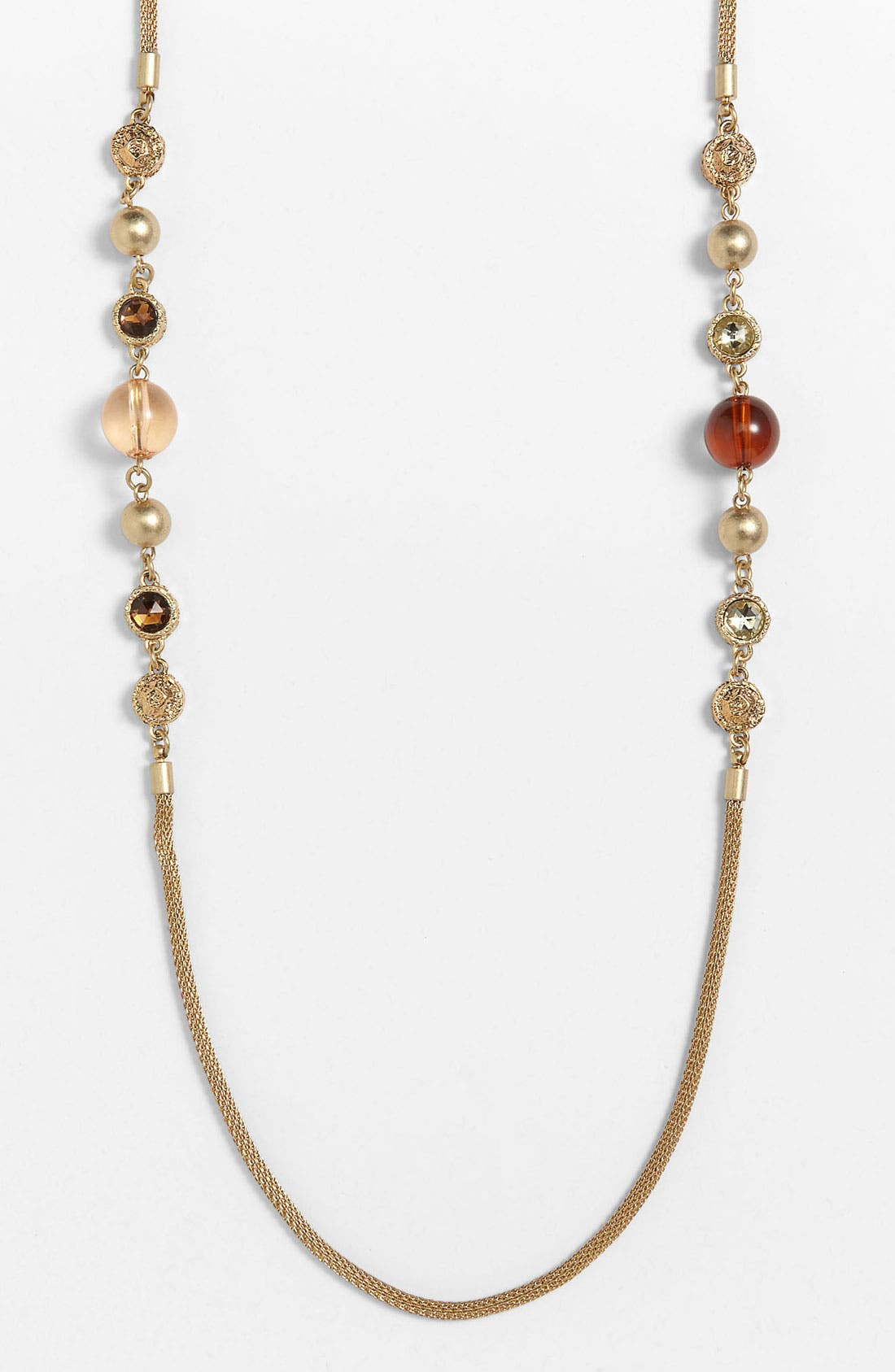 Alternate Image 1 Selected - MARC BY MARC JACOBS 'Paste & Prints' Long Station Necklace