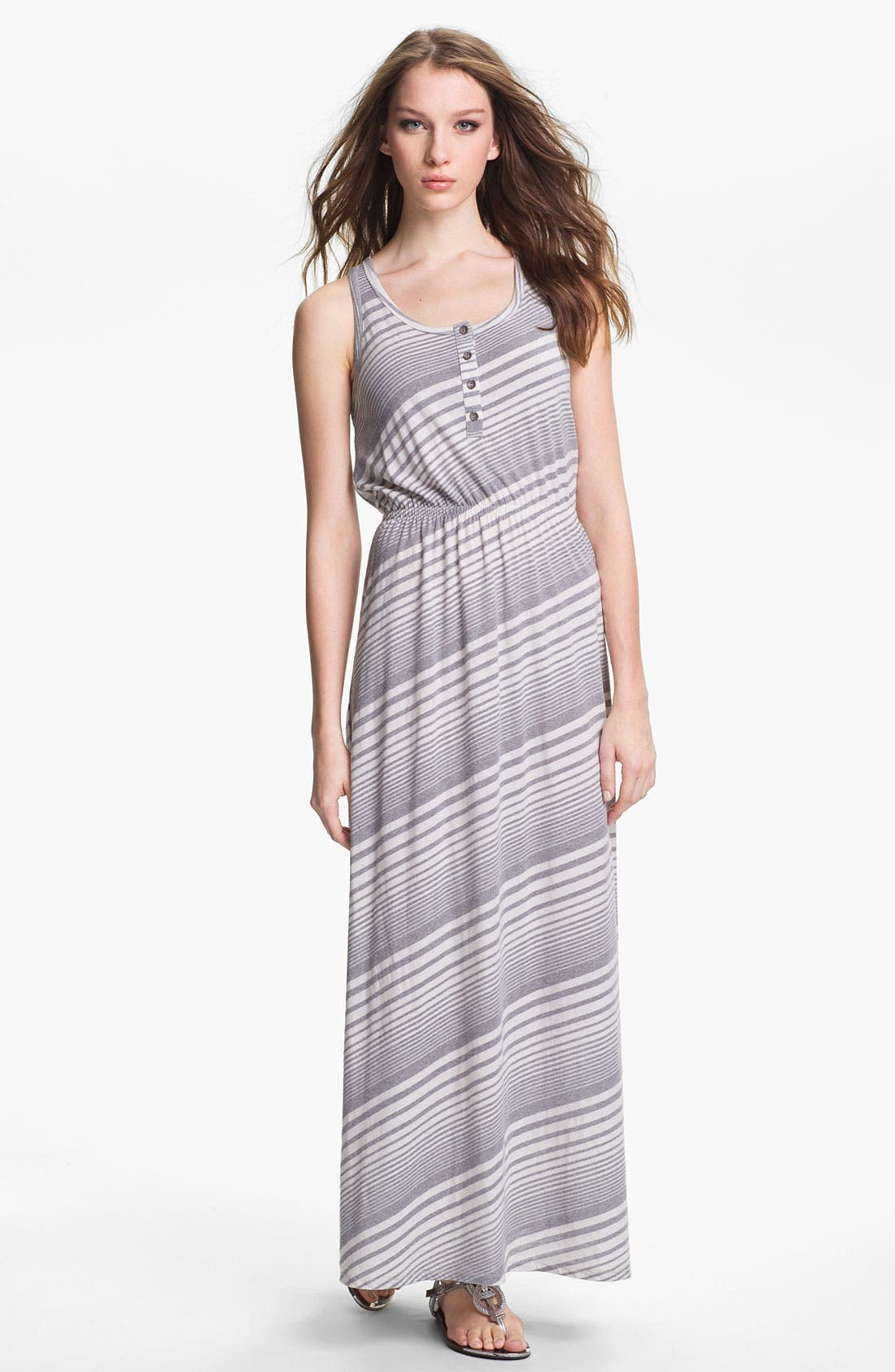 Main Image - Two by Vince Camuto Stripe Maxi Dress