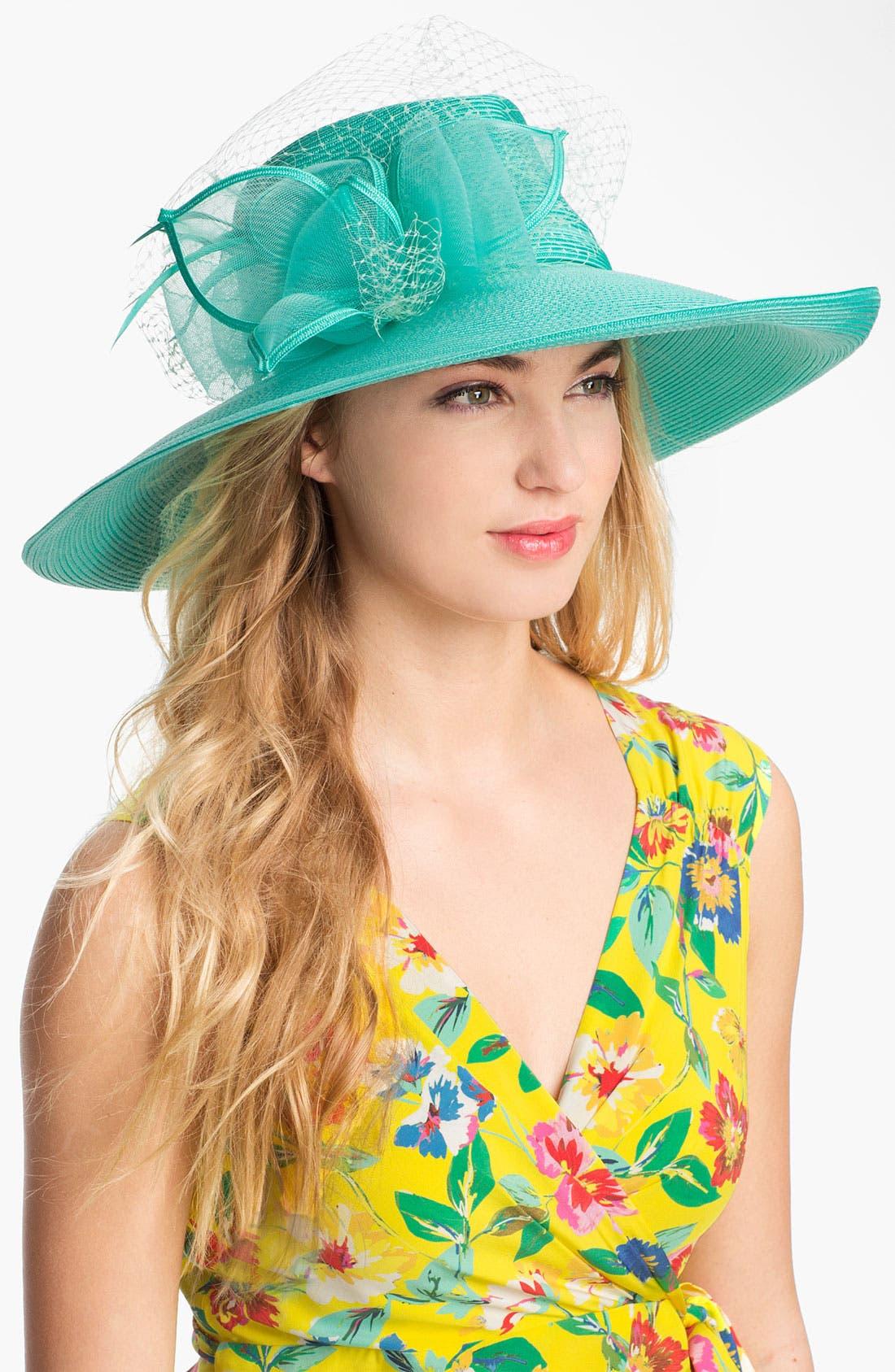 Alternate Image 1 Selected - August Hat 'Amber Romantic' Hat