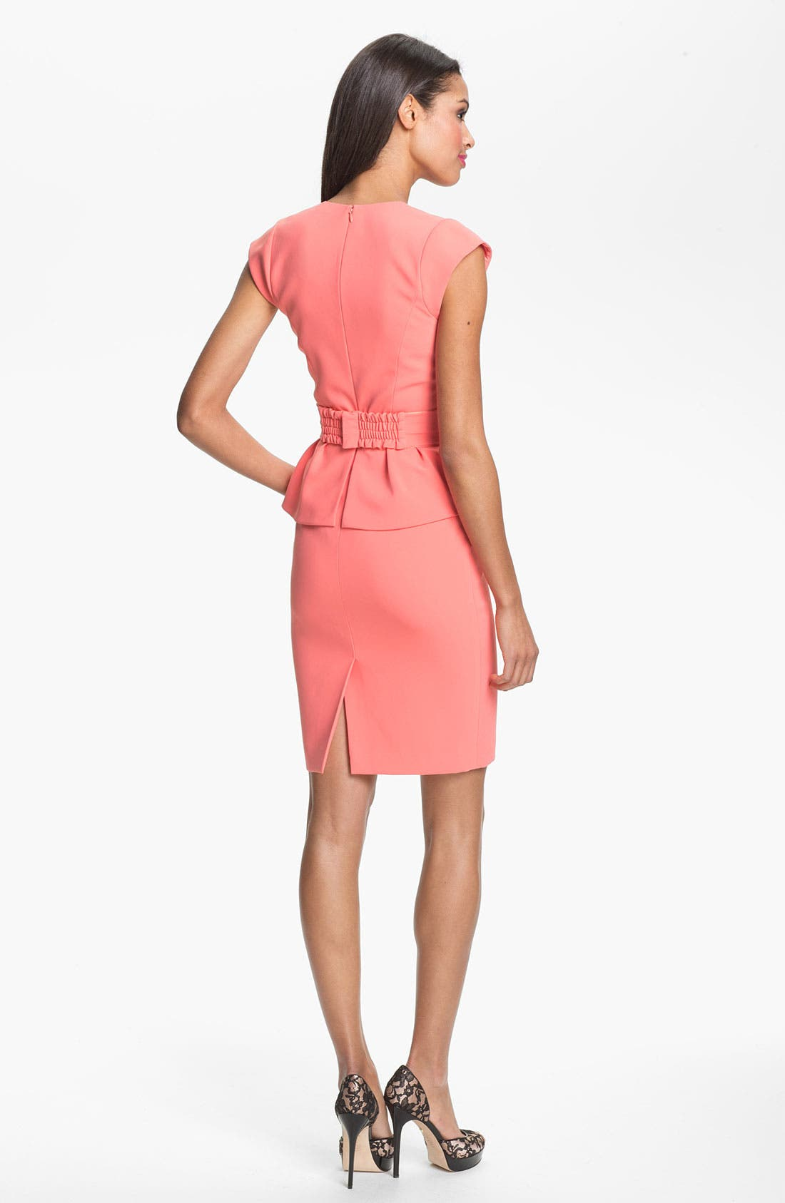Alternate Image 2  - ERIN erin fetherston Crepe Peplum Dress