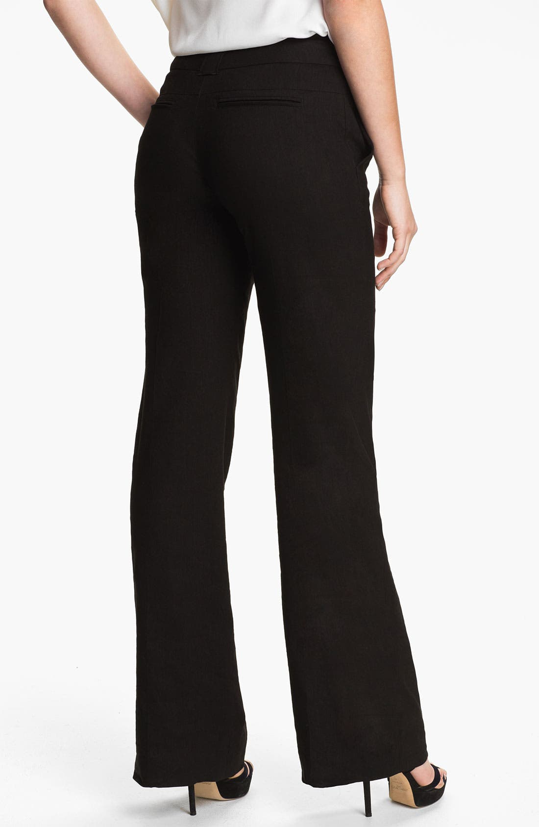 Alternate Image 2  - Vince Linen Wide Leg Trousers