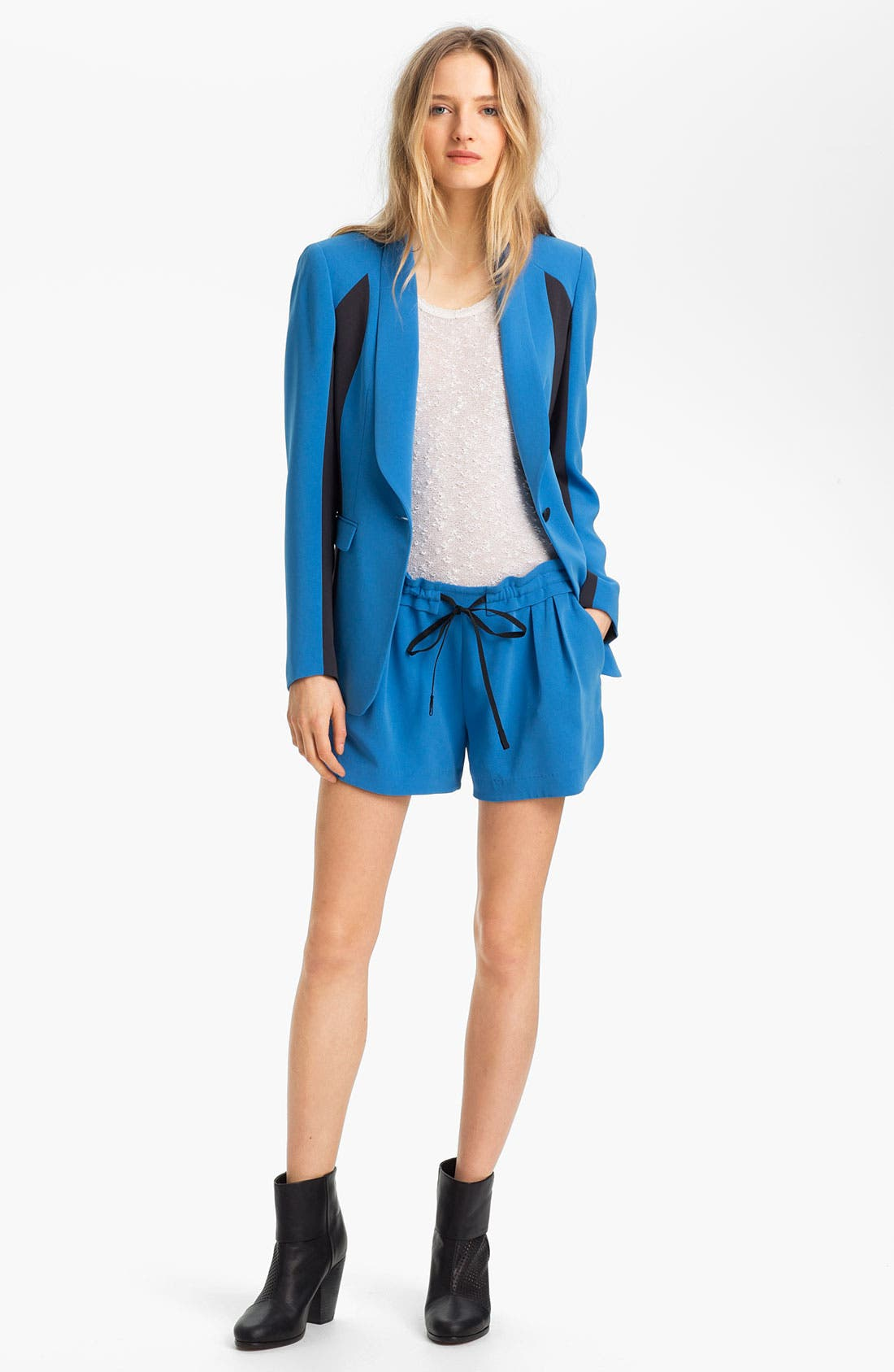 Alternate Image 1 Selected - rag & bone/JEAN 'Jefferson' Contrast Panel Blazer