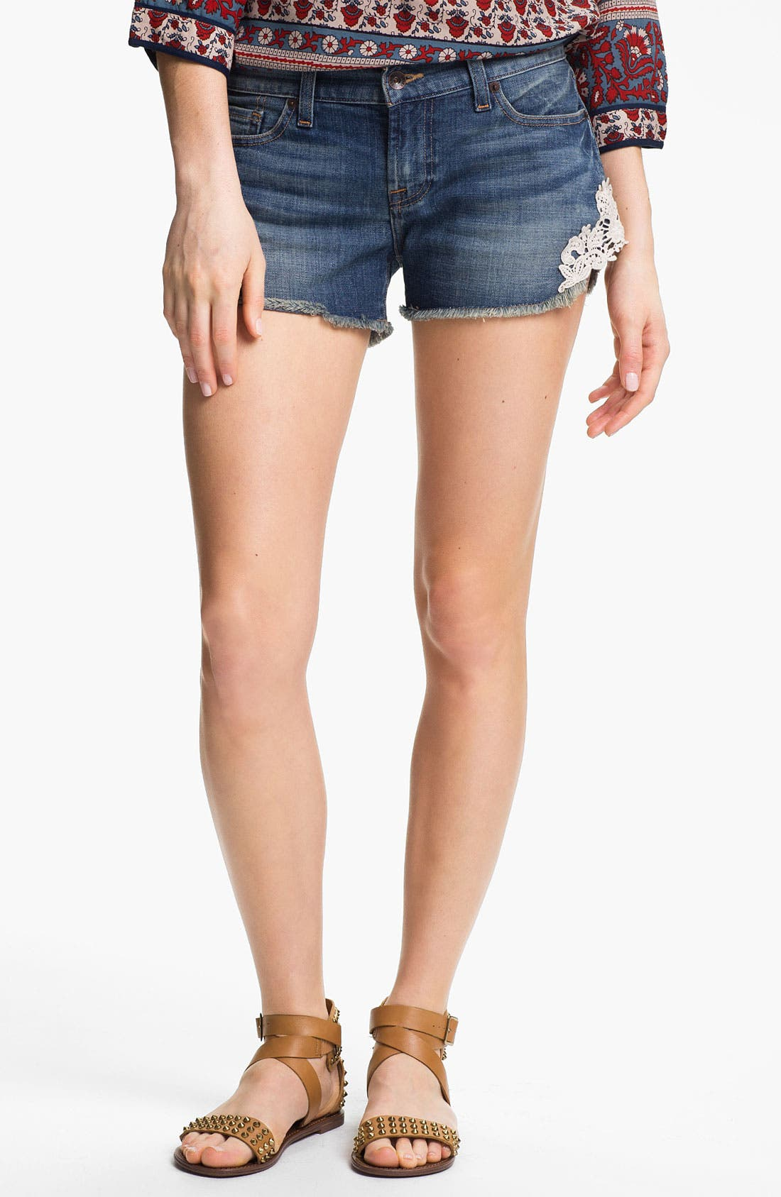 Main Image - Lucky Brand 'Riley' Denim Shorts (Islip) (Online Exclusive)