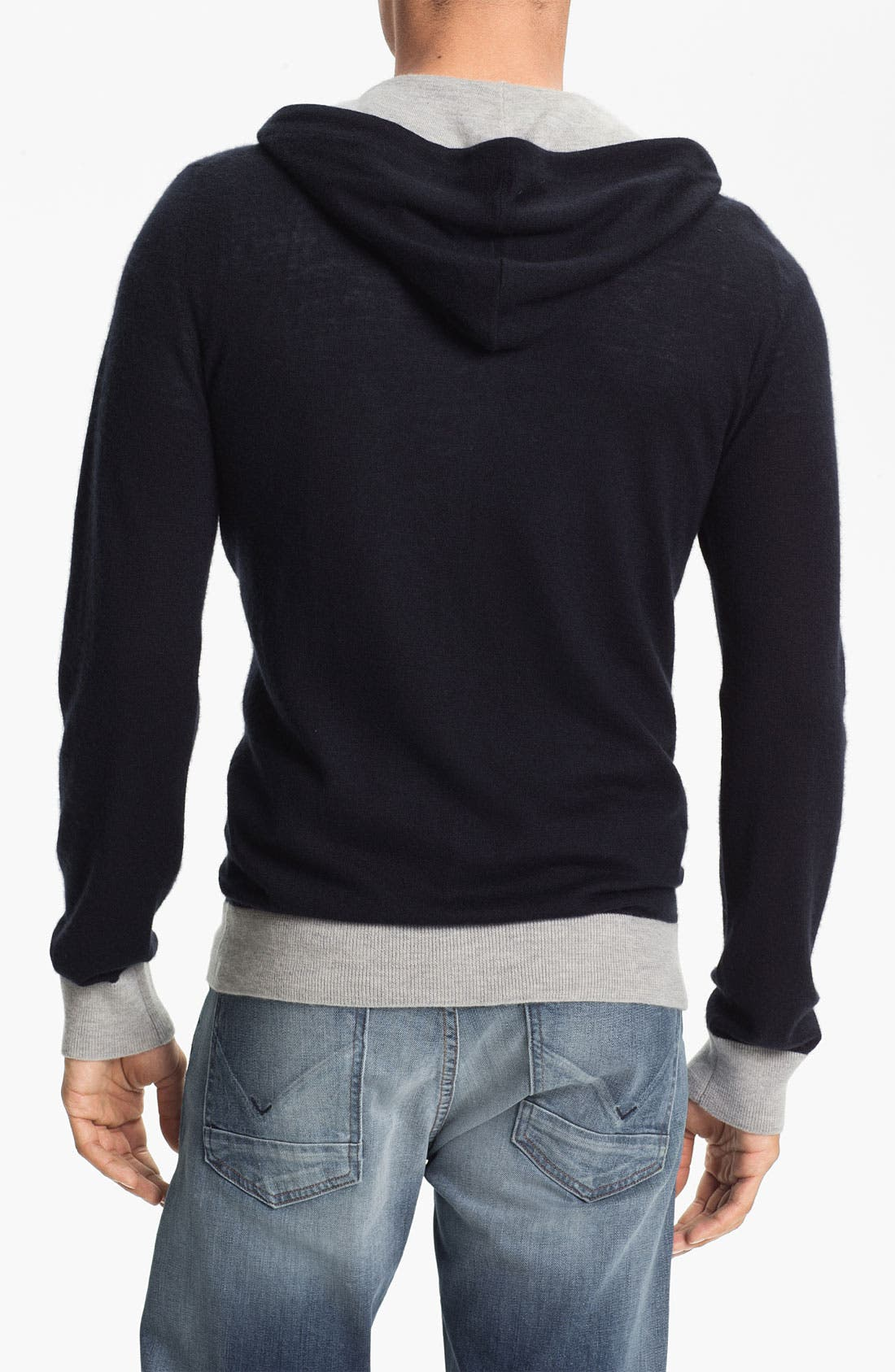 Alternate Image 2  - MARC BY MARC JACOBS 'Kilmer' Cashmere Knit Hoodie
