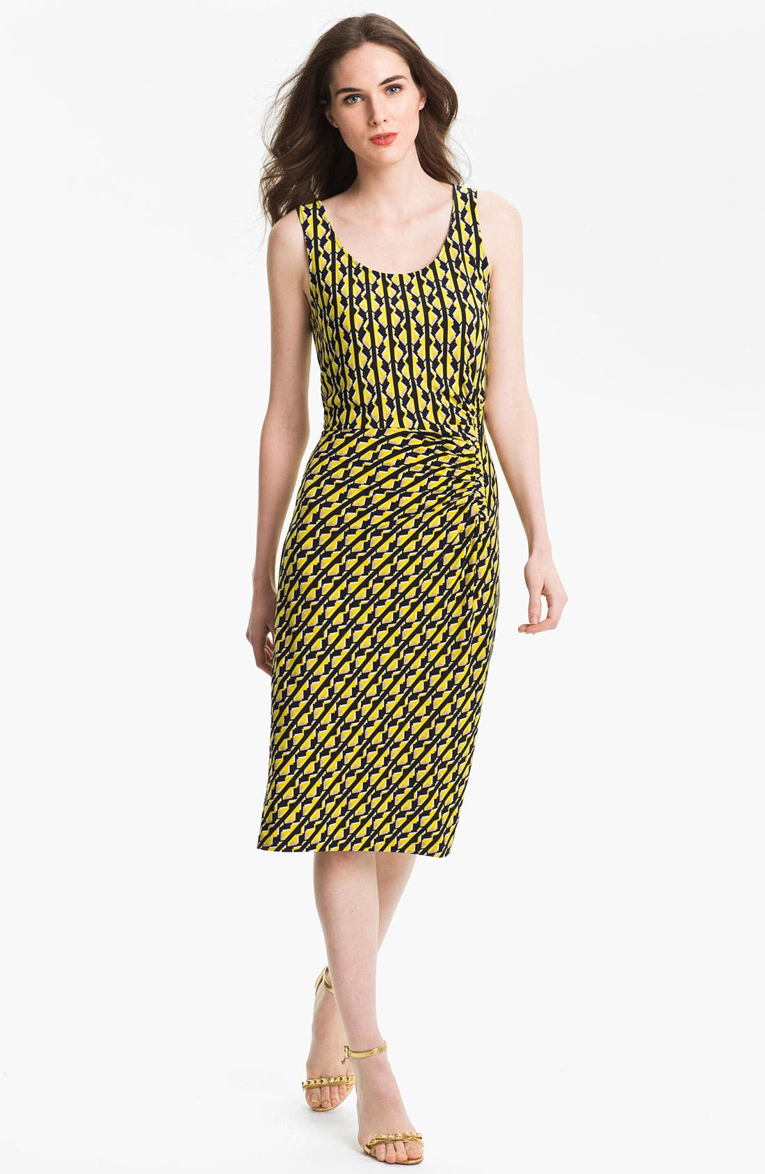 Alternate Image 1 Selected - Anne Klein 'Geo Stripe' Dress
