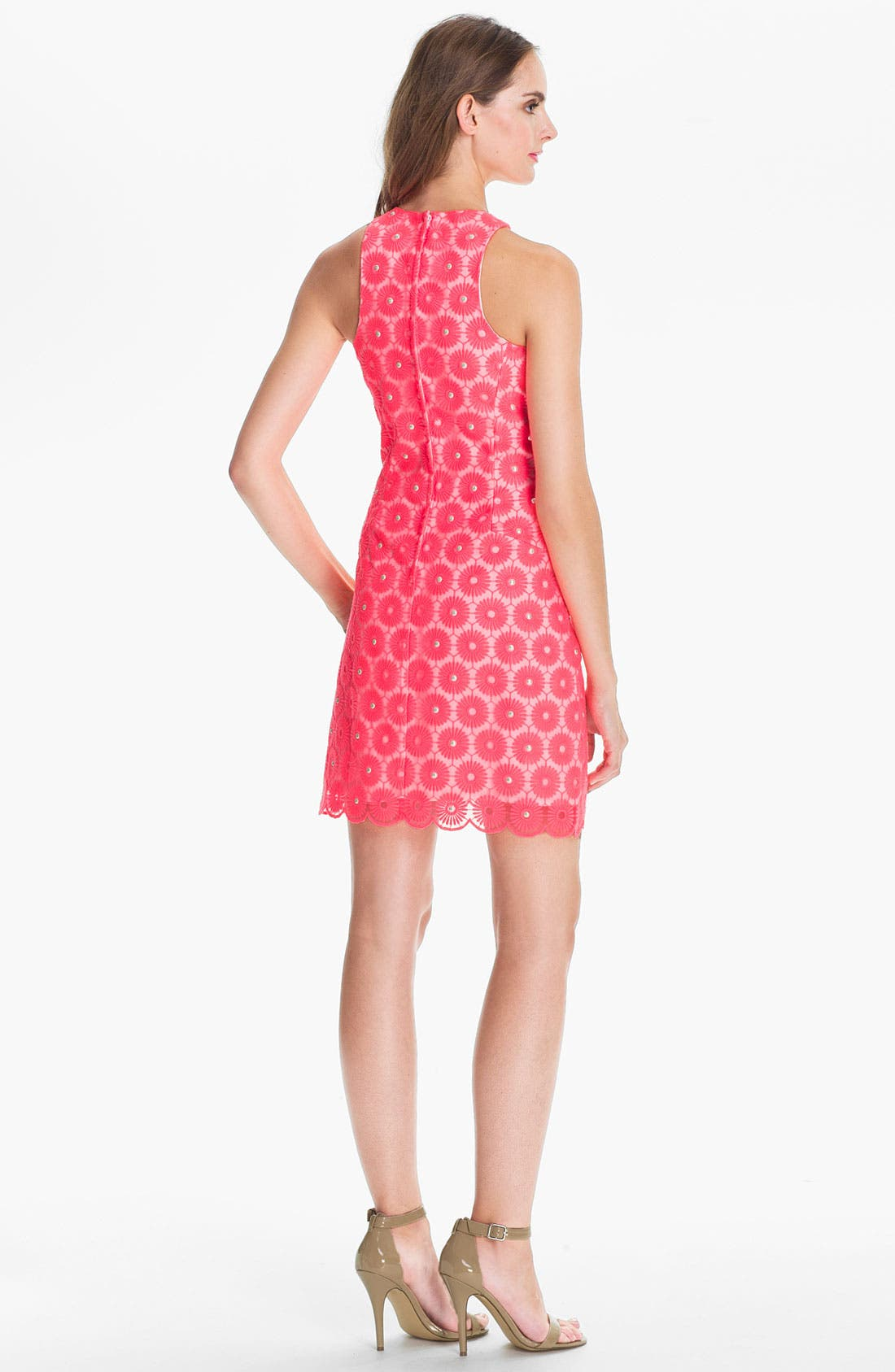Alternate Image 2  - Lilly Pulitzer® 'Pearl' Embellished Lace Dress