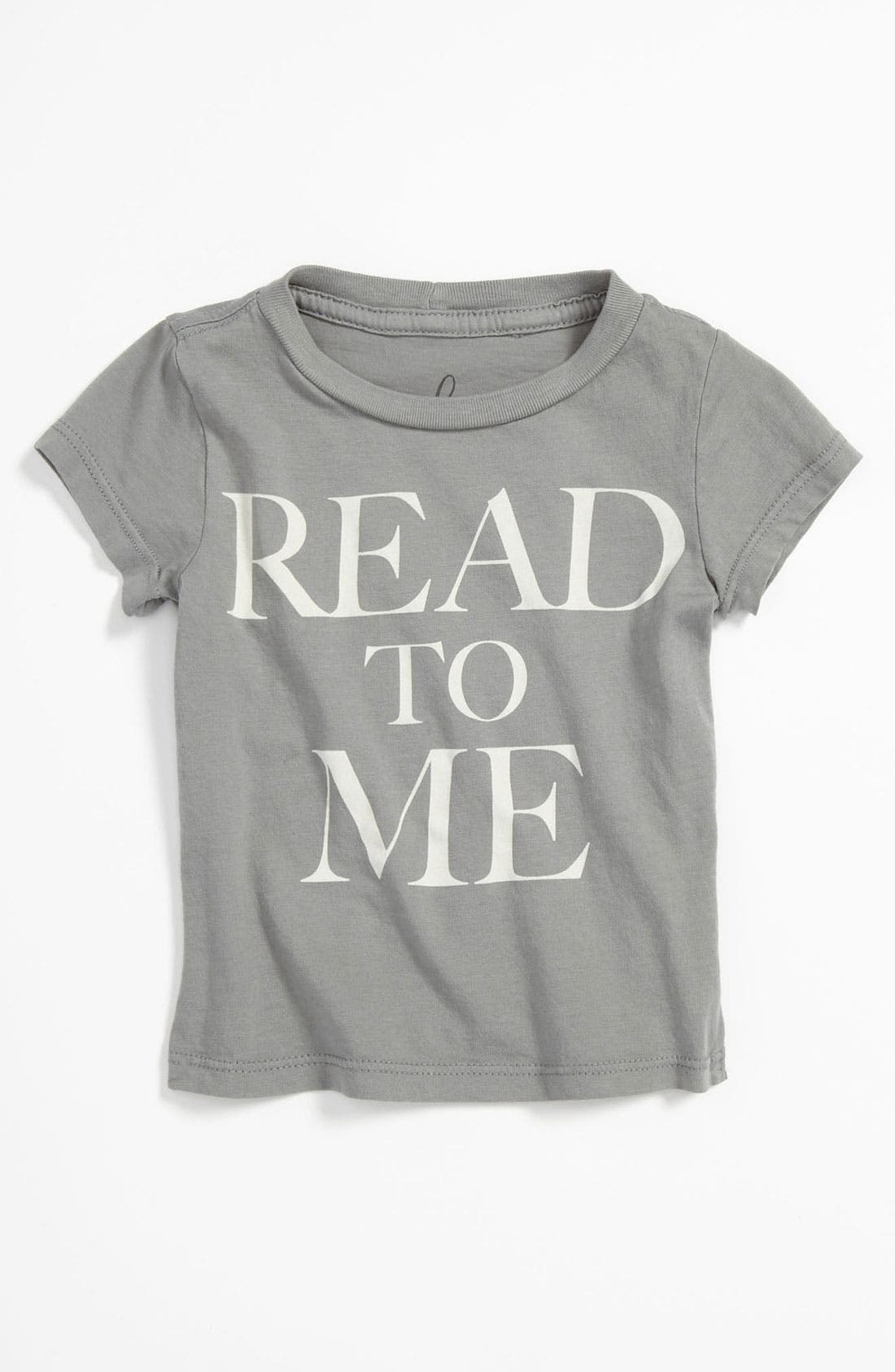 Main Image - Peek 'Little Peanut - Read To Me' T-Shirt (Baby)