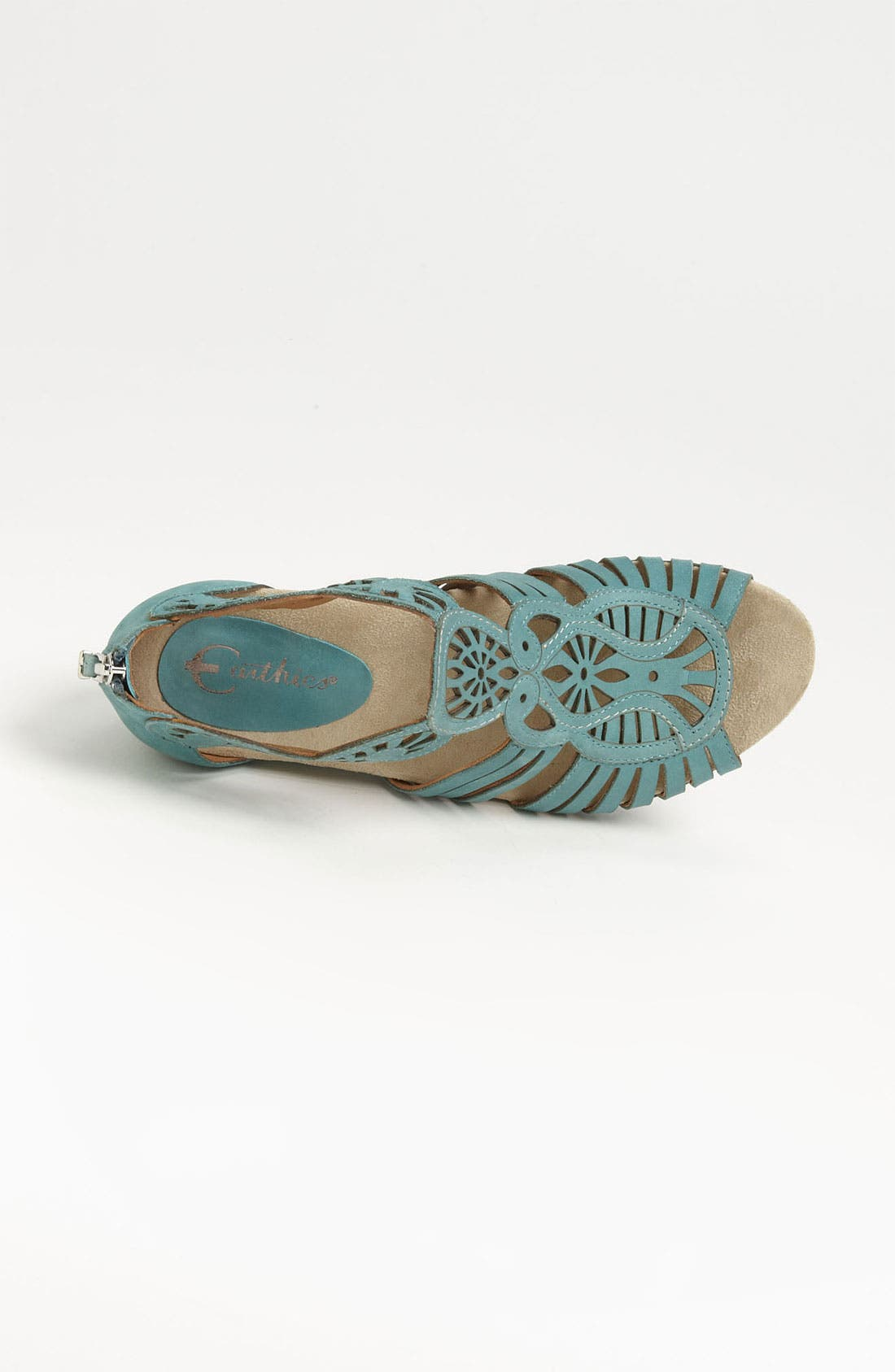 'Caradonna' Sandal,                             Alternate thumbnail 3, color,                             Light Teal