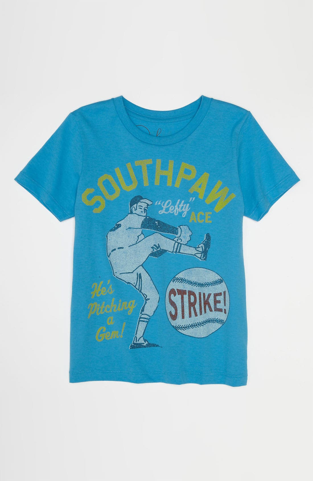 Alternate Image 1 Selected - Peek 'Southpaw' T-Shirt (Big Boys)