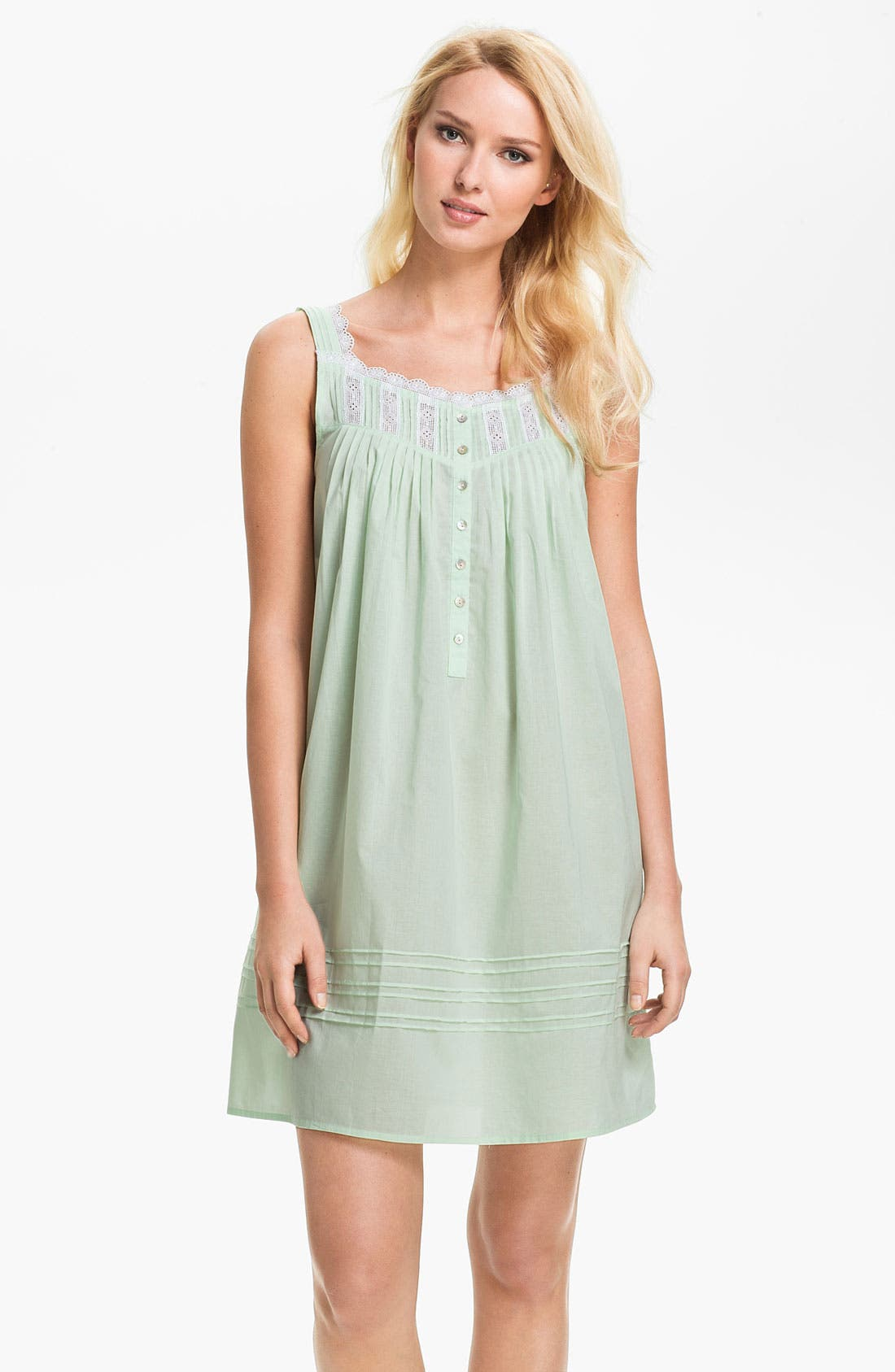 Main Image - Eileen West 'Morning Dew' Short Nightgown