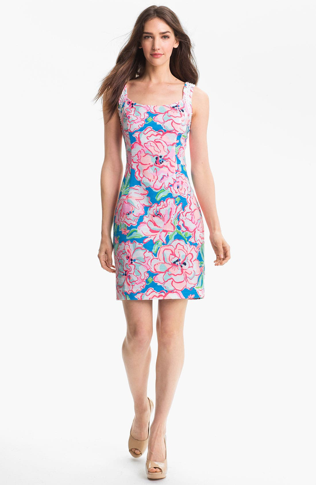 Alternate Image 1 Selected - Lilly Pulitzer® 'Nienie' Print Sheath Dress