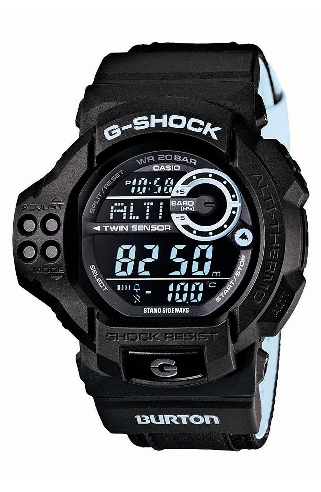 Alternate Image 1 Selected - G-Shock 'Burton' Digital Watch