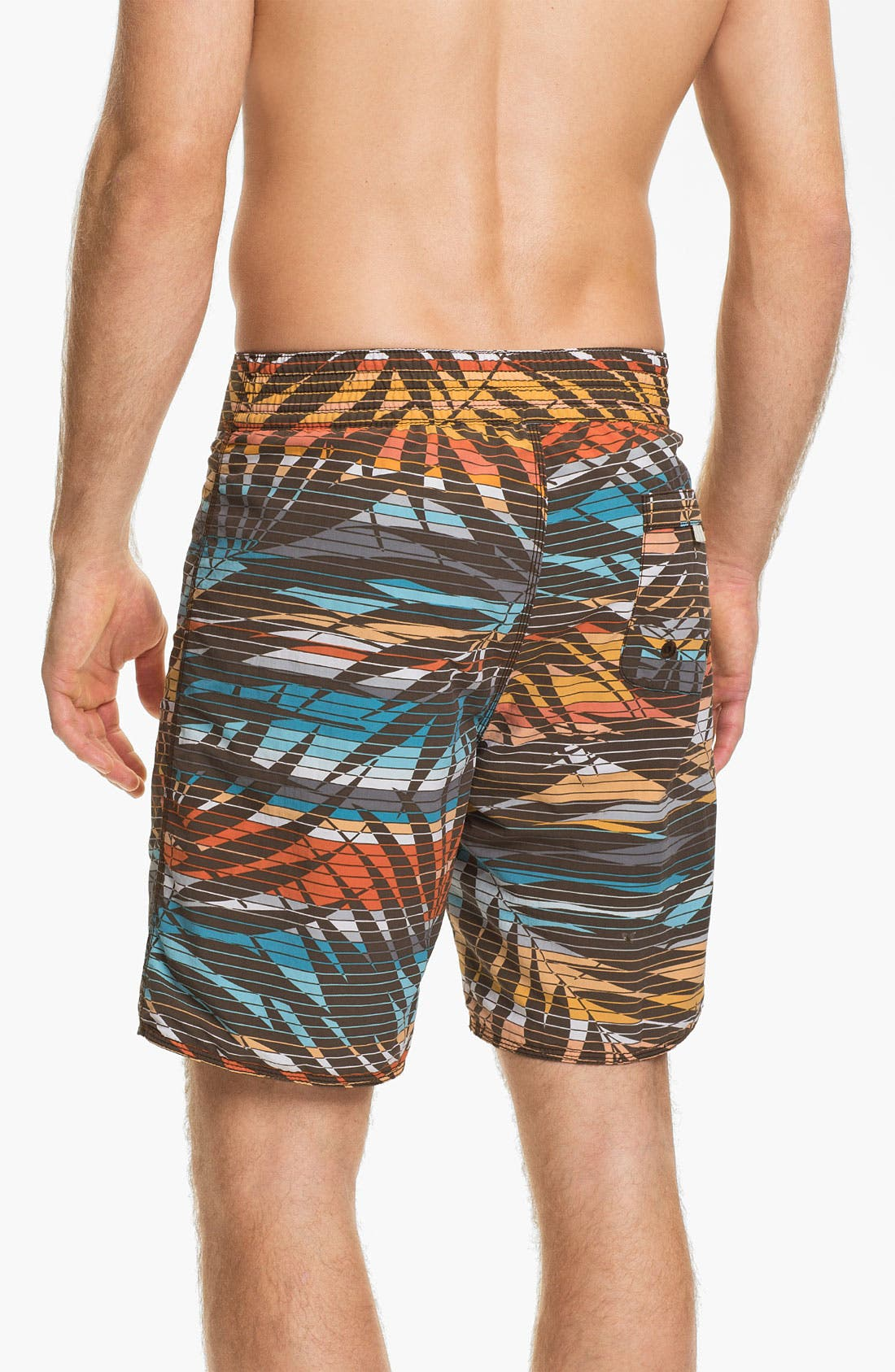 Alternate Image 3  - Tommy Bahama Relax 'Fern Baby Fern' Reversible Board Shorts (Online Only)