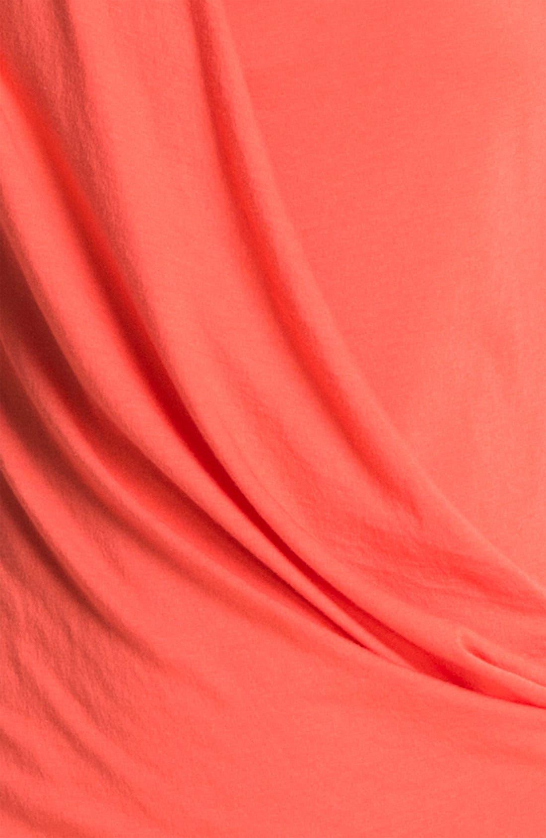 Alternate Image 3  - HELMUT Helmut Lang 'Feather' Draped Jersey Dress