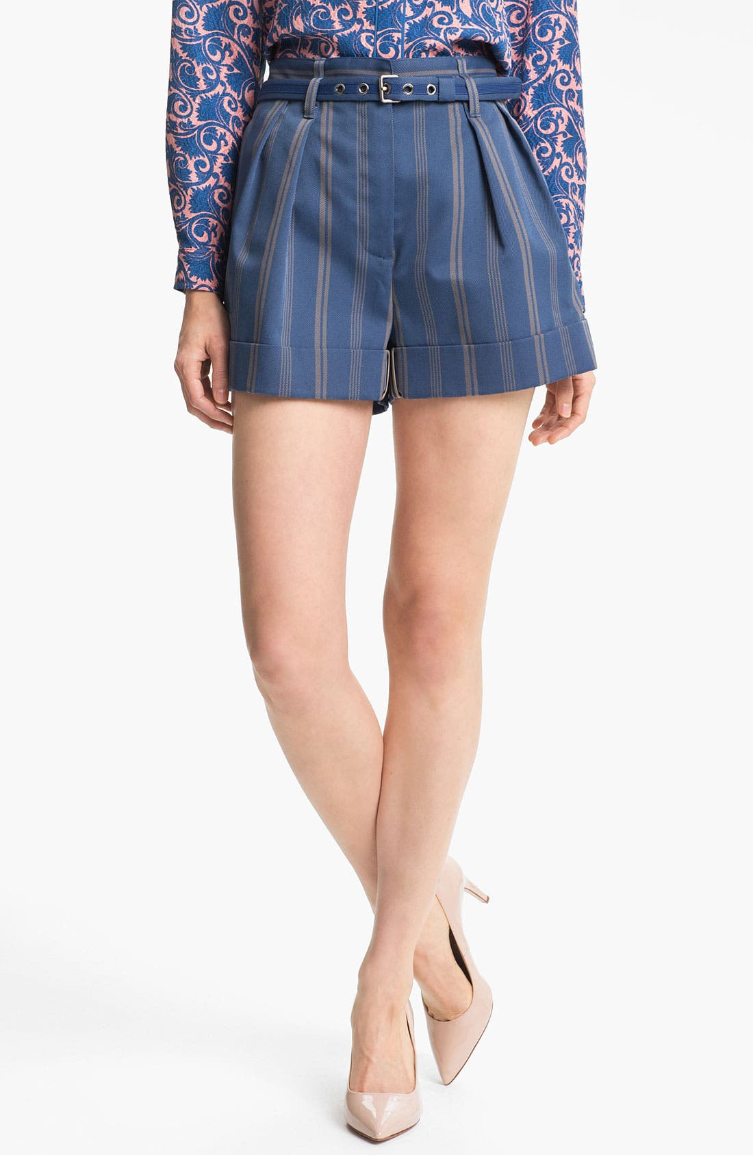 Alternate Image 1 Selected - MARC BY MARC JACOBS 'Turner' Wide Leg Shorts