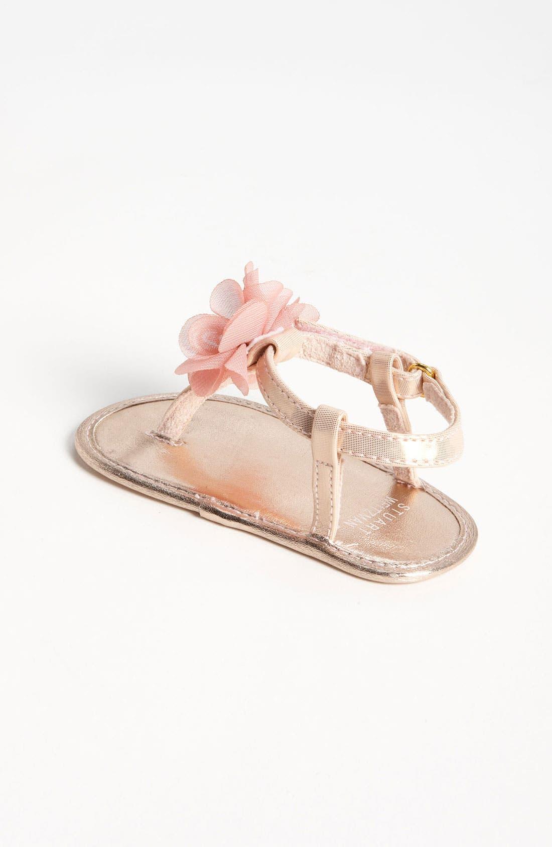 Alternate Image 2  - Stuart Weitzman 'Baby Silk' Sandal (Baby)