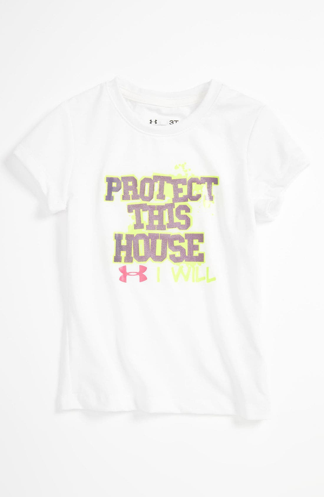 Main Image - Under Armour Tee (Toddler)