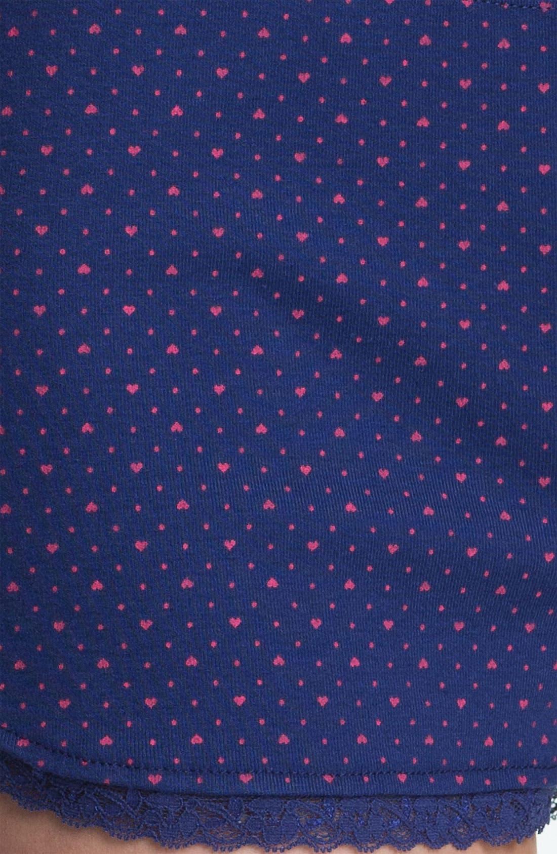Alternate Image 3  - Jane & Bleecker New York Rib Knit Boxer Shorts