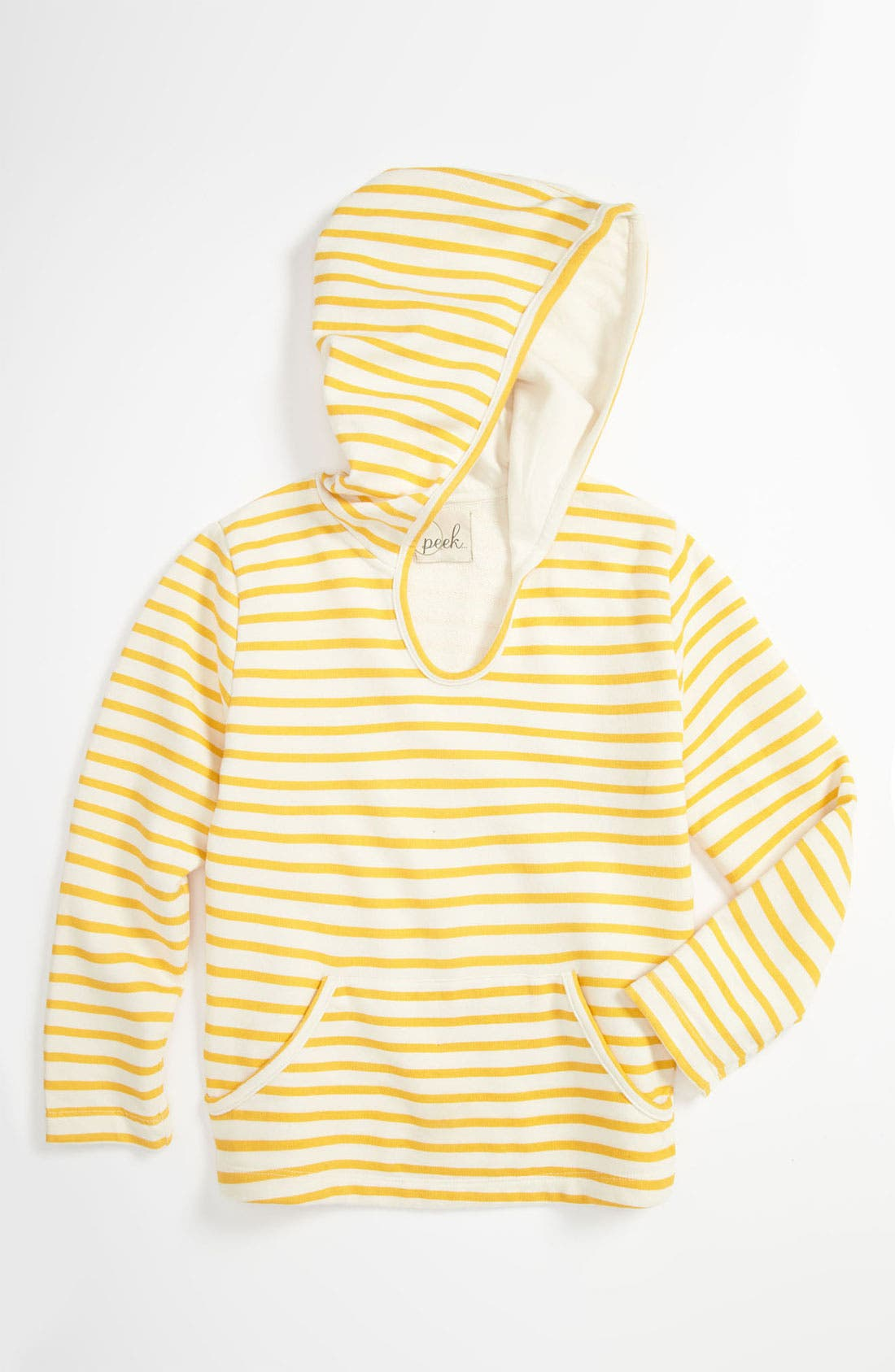 Alternate Image 1 Selected - Peek 'Flag' Hoodie (Toddler, Little Girls & Big Girls)