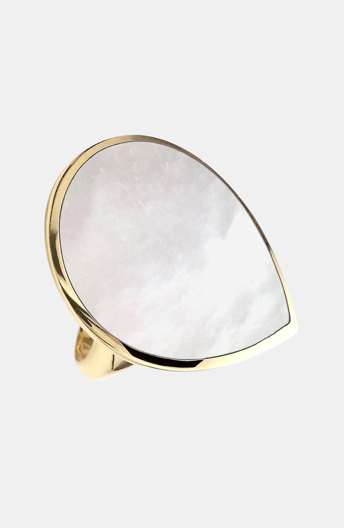Alternate Image 1 Selected - Ippolita 'Rock Candy' 18k Gold Large Teardrop Ring