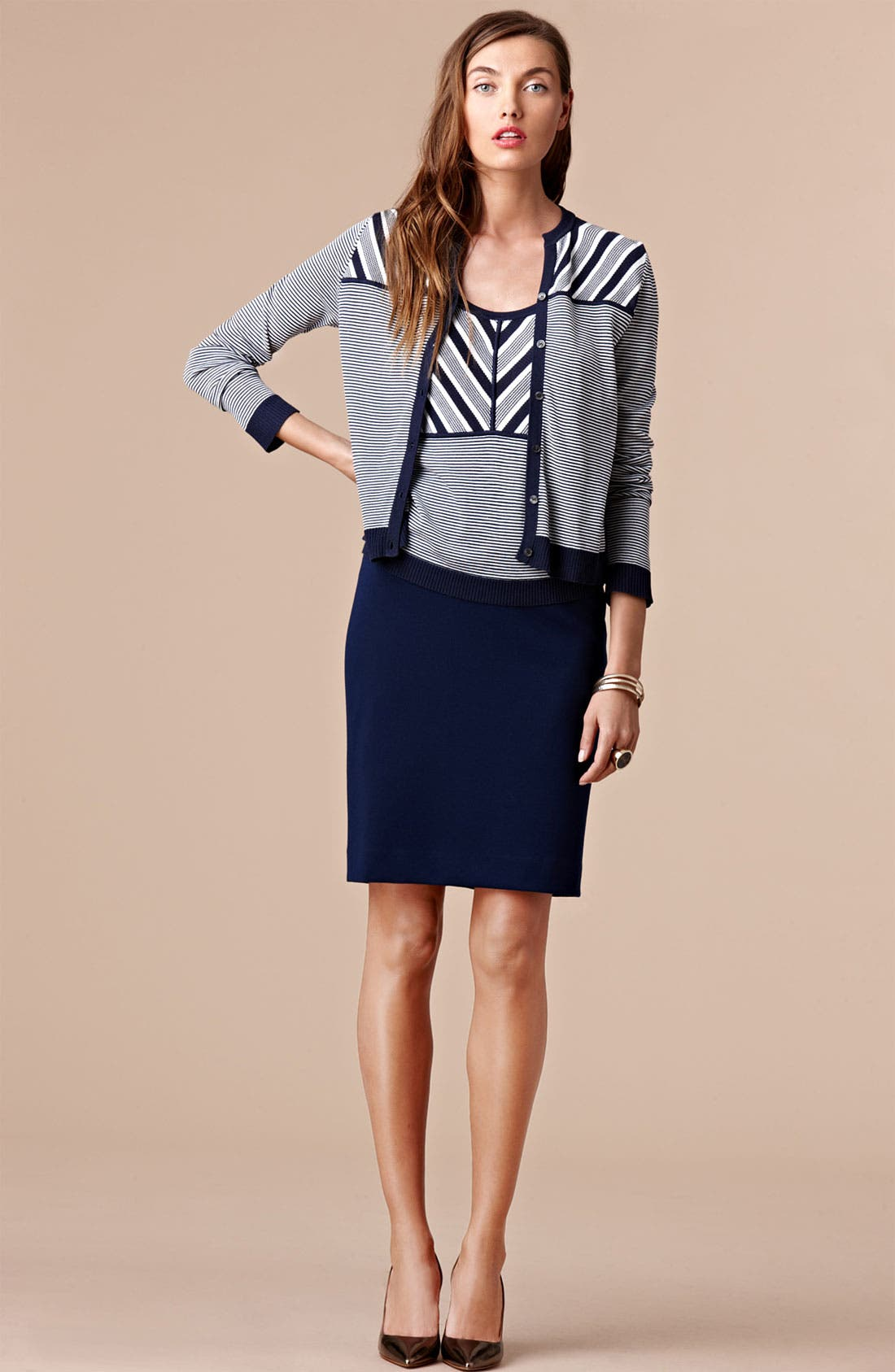 Alternate Image 4  - Anne Klein Ponte Pencil Skirt