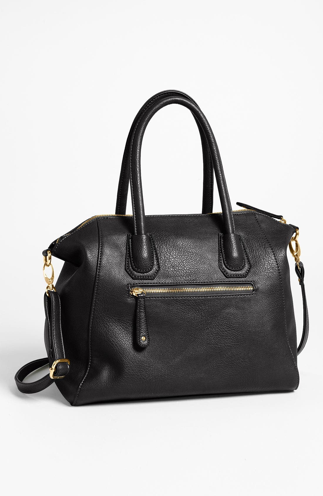 Alternate Image 4  - Street Level Faux Leather Satchel