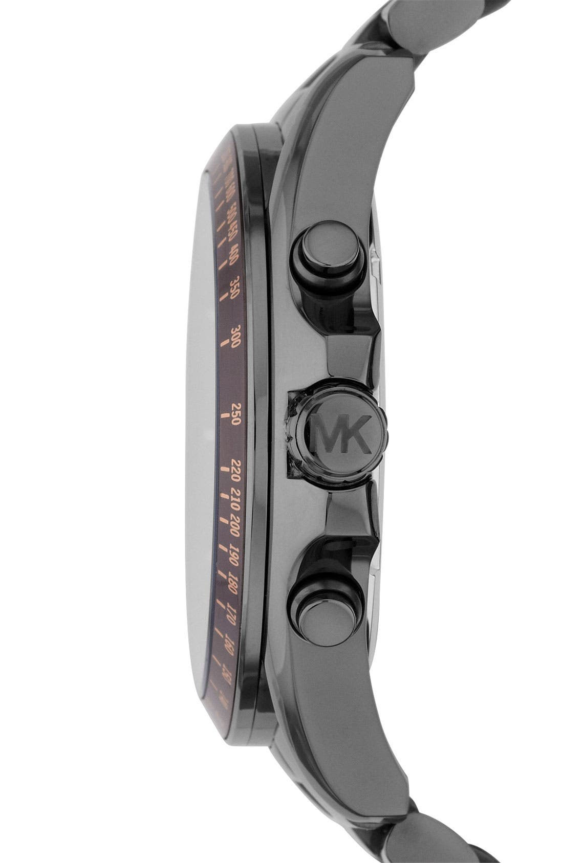 Alternate Image 2  - Michael Kors 'Bradshaw' Chronograph Bracelet Watch, 48mm