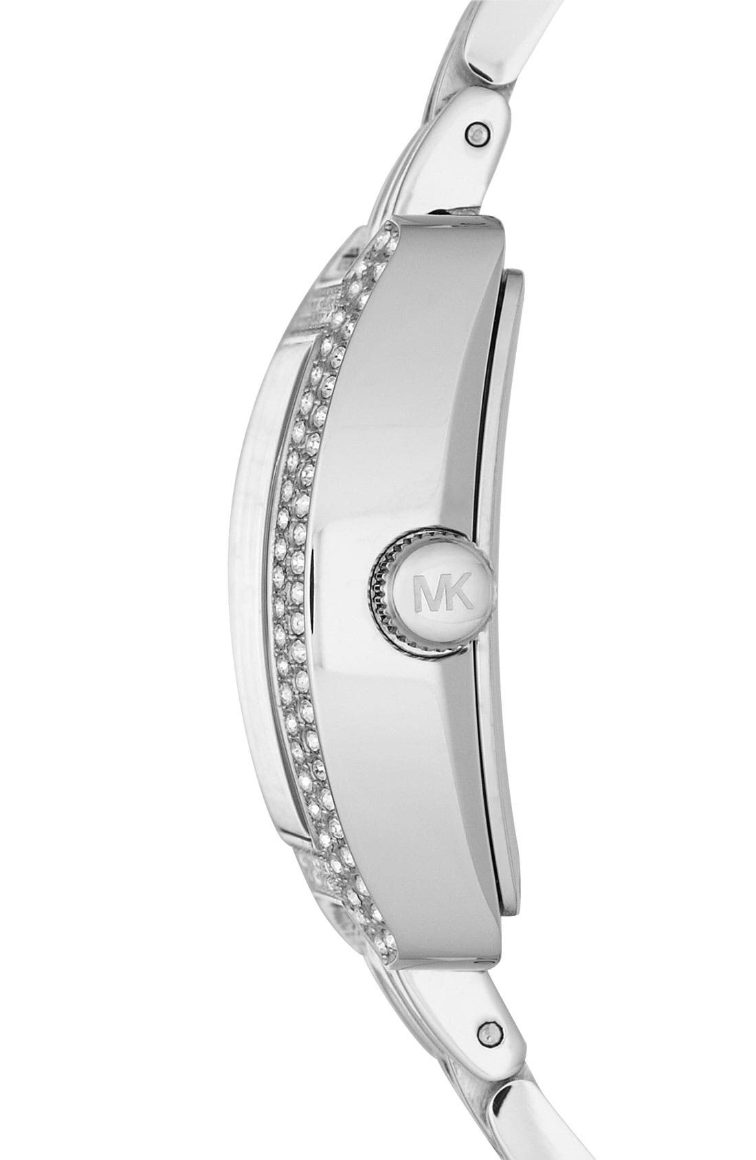 Alternate Image 2  - Michael Kors 'Emma' Square Bracelet Watch