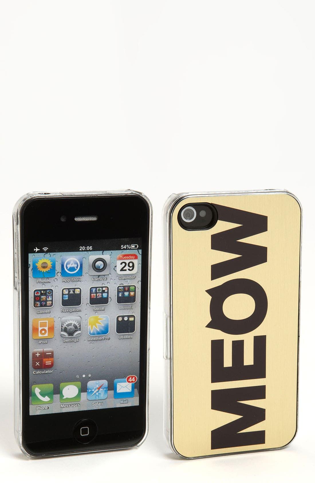 Main Image - ZERO GRAVITY 'Cat Call' iPhone 4 & 4S Case