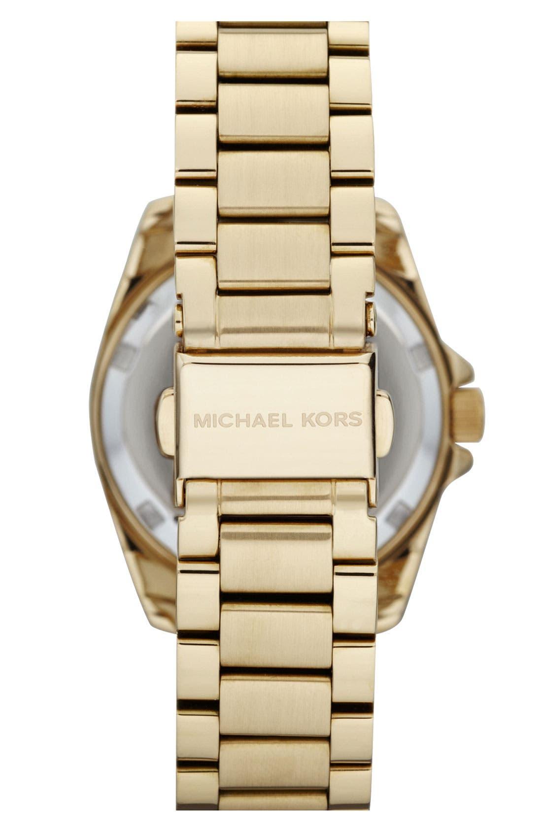 Alternate Image 3  - Michael Kors 'Mini Blair' Multifunction Watch, 33mm