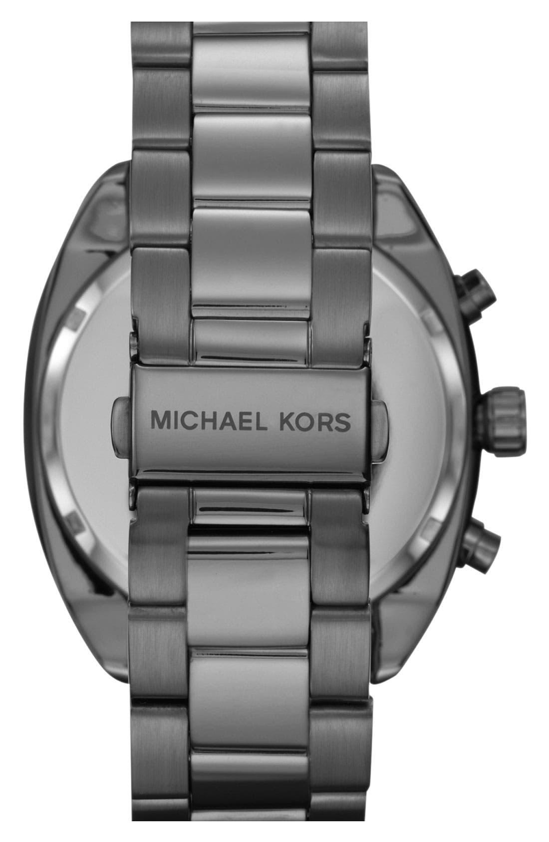 Alternate Image 3  - Michael Kors Chronograph Bracelet Watch