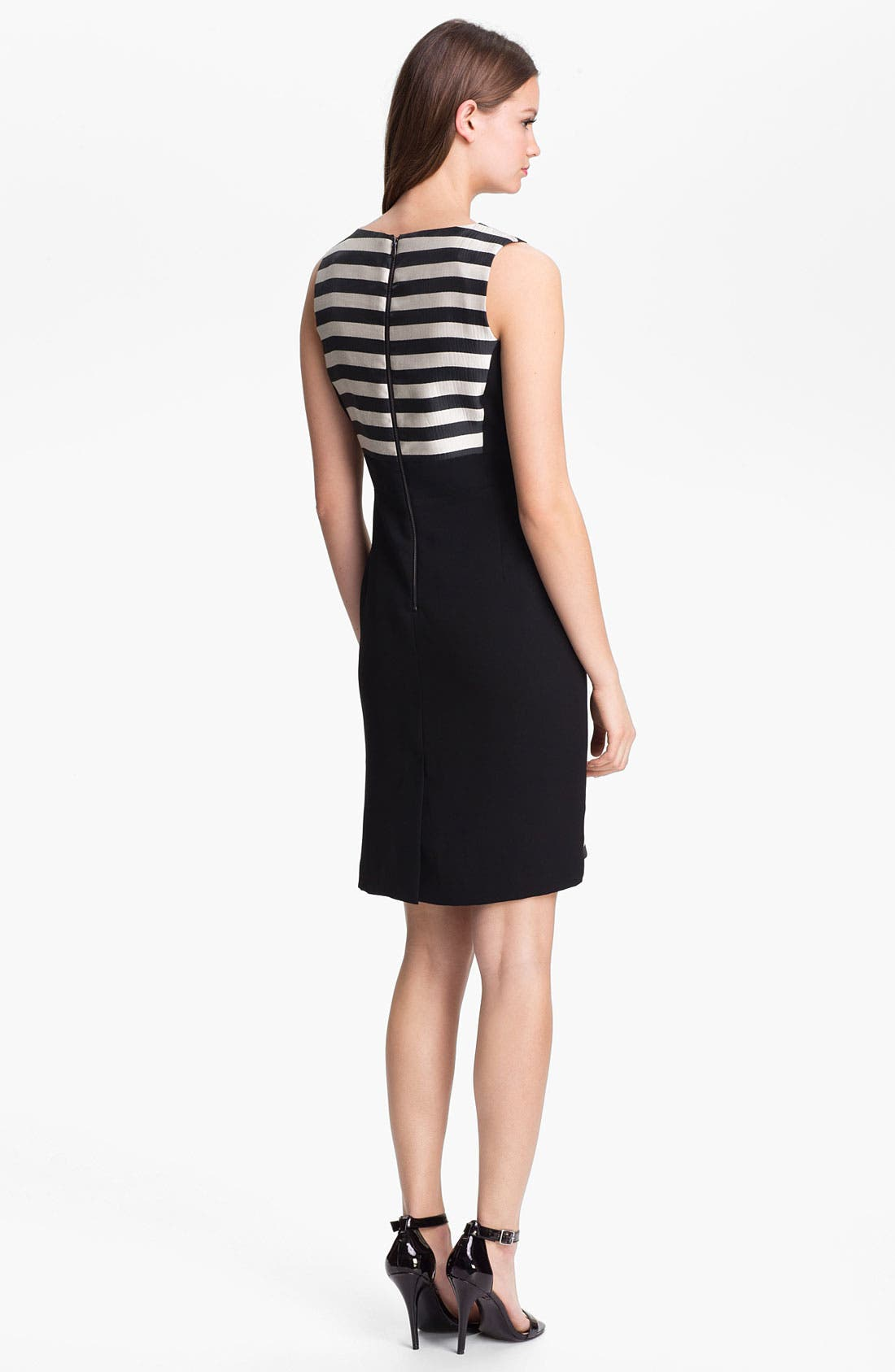 Alternate Image 2  - Kenneth Cole New York 'Marcie' Bold Stripe Sheath Dress