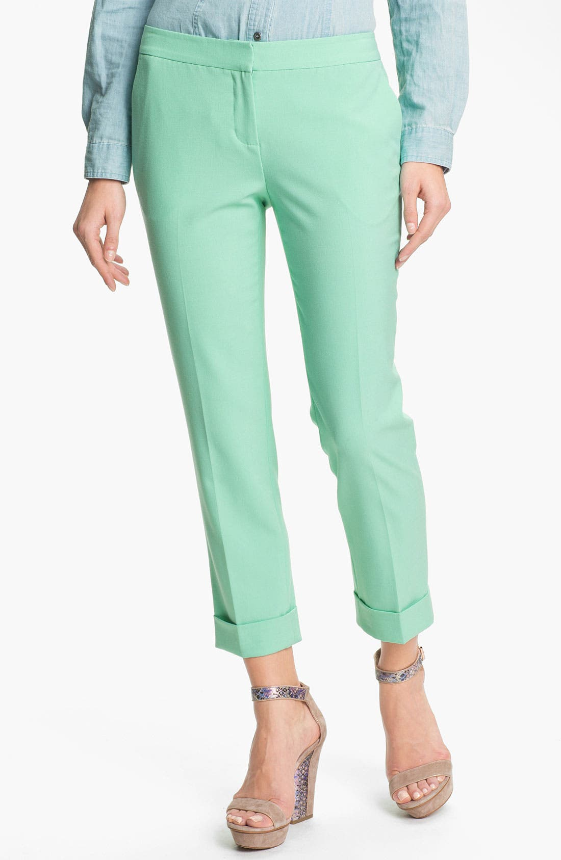 Alternate Image 1 Selected - Vince Camuto Cuff Ankle Pants