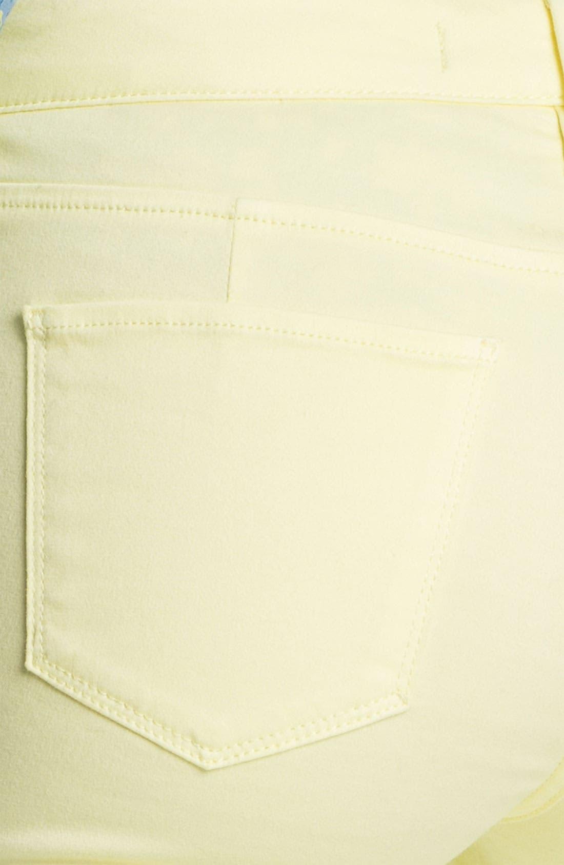 Alternate Image 3  - Isaac Mizrahi Jeans Colored Skinny Jeans