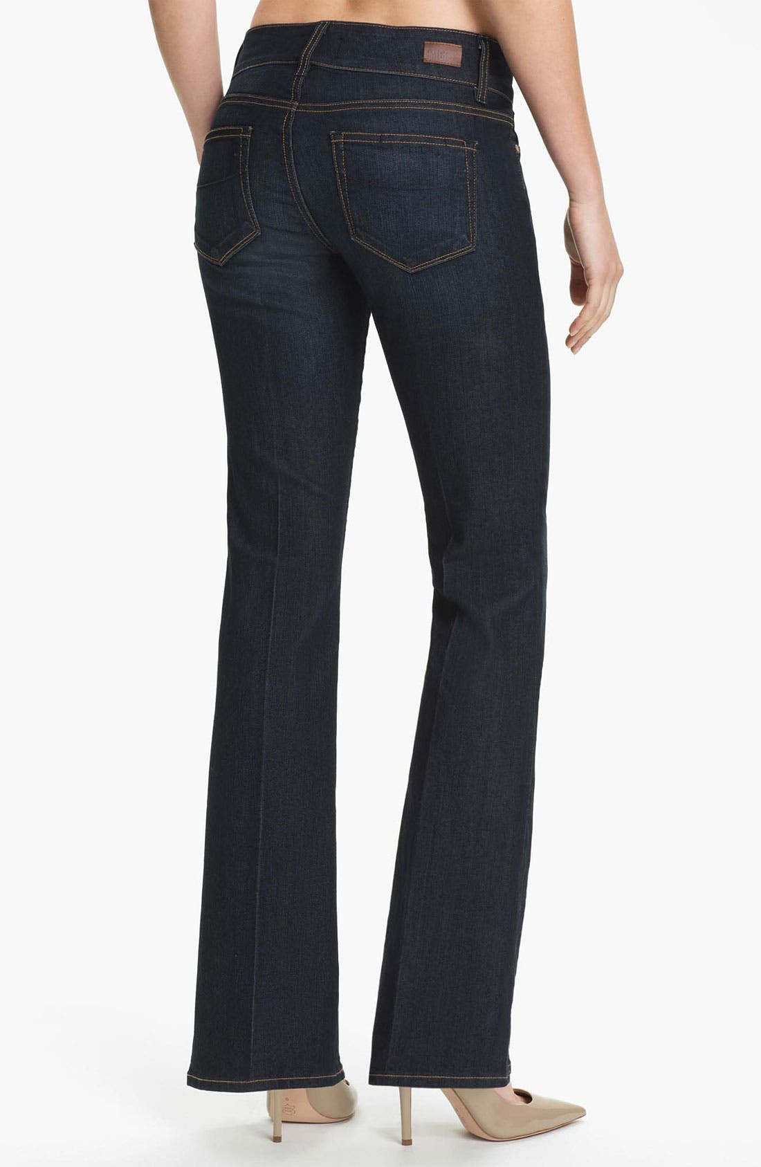 Alternate Image 2  - Paige Denim 'Hidden Hills' Bootcut Stretch Jeans (Carson) (Petite)