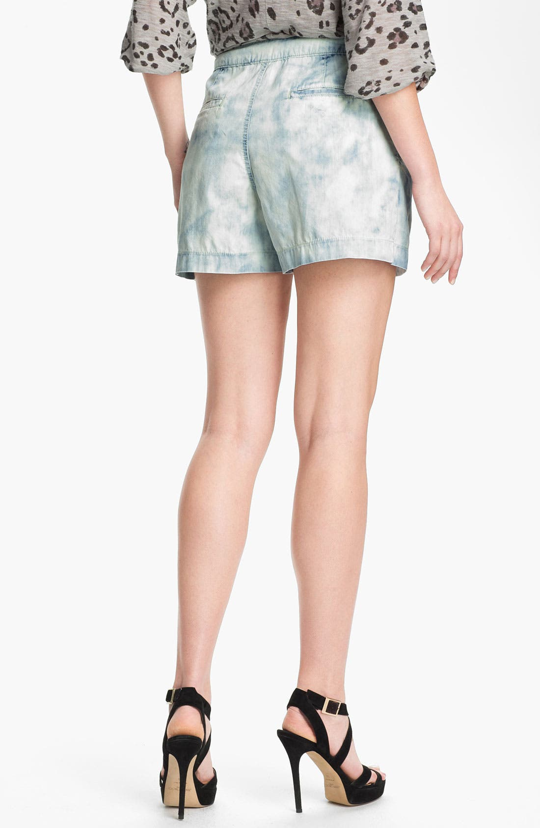 Alternate Image 2  - Rebecca Taylor Denim Shorts