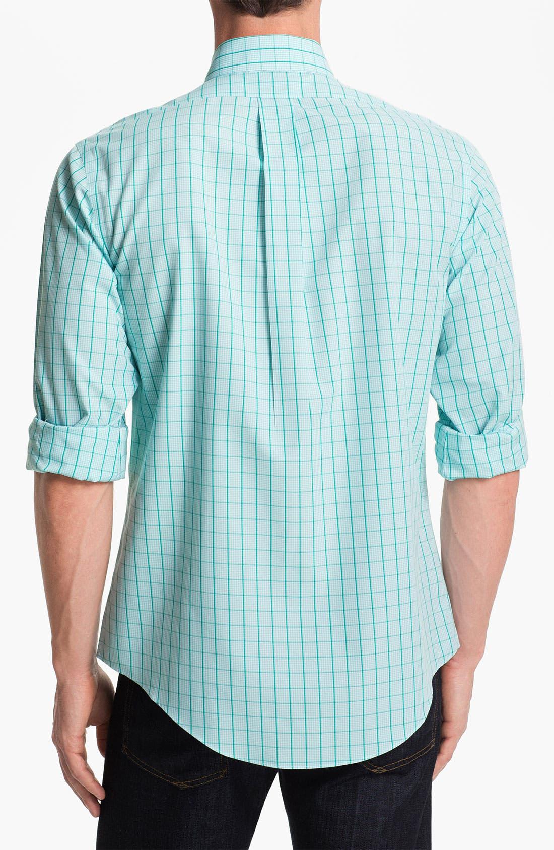 Alternate Image 2  - Brooks Brothers Checkered Sport Shirt