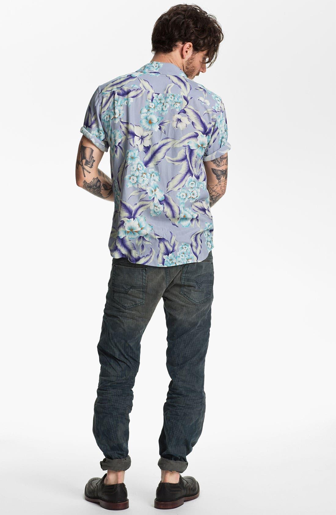 Alternate Image 6  - DIESEL® 'Safado' Straight Leg Jeans (Electric Blue)