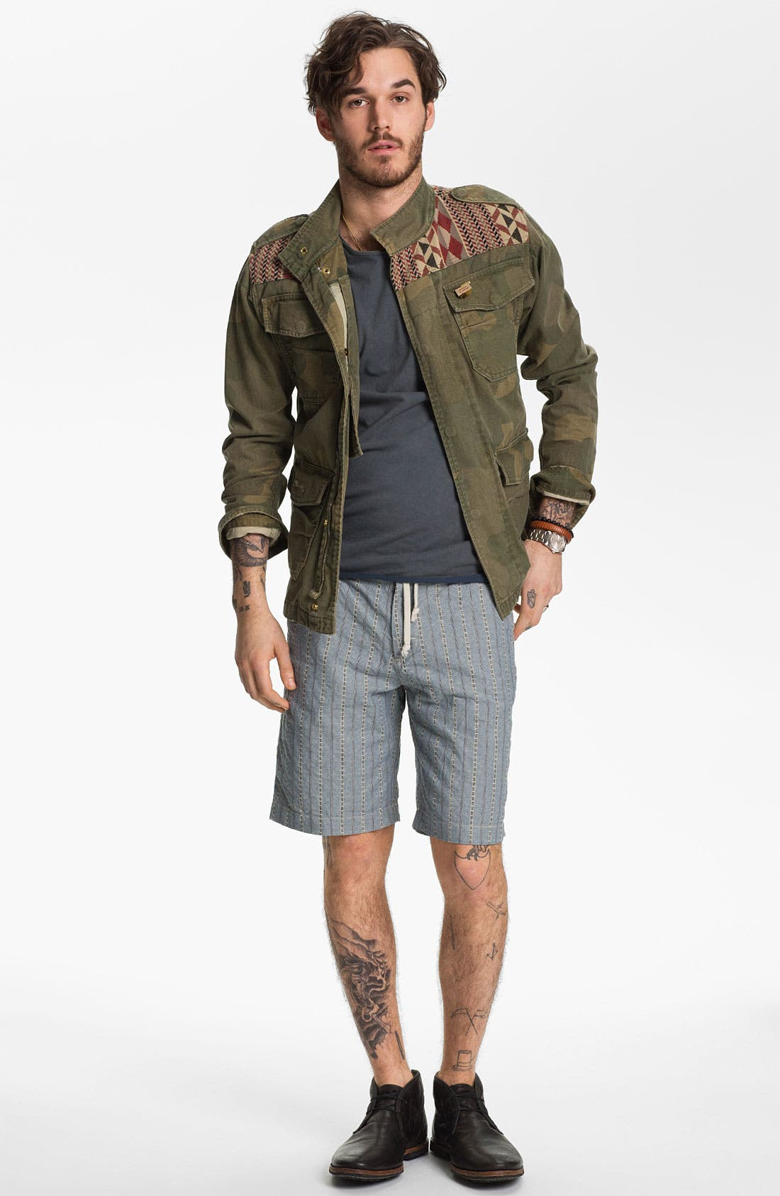 Alternate Image 4  - Scotch & Soda Camo Print Field Jacket