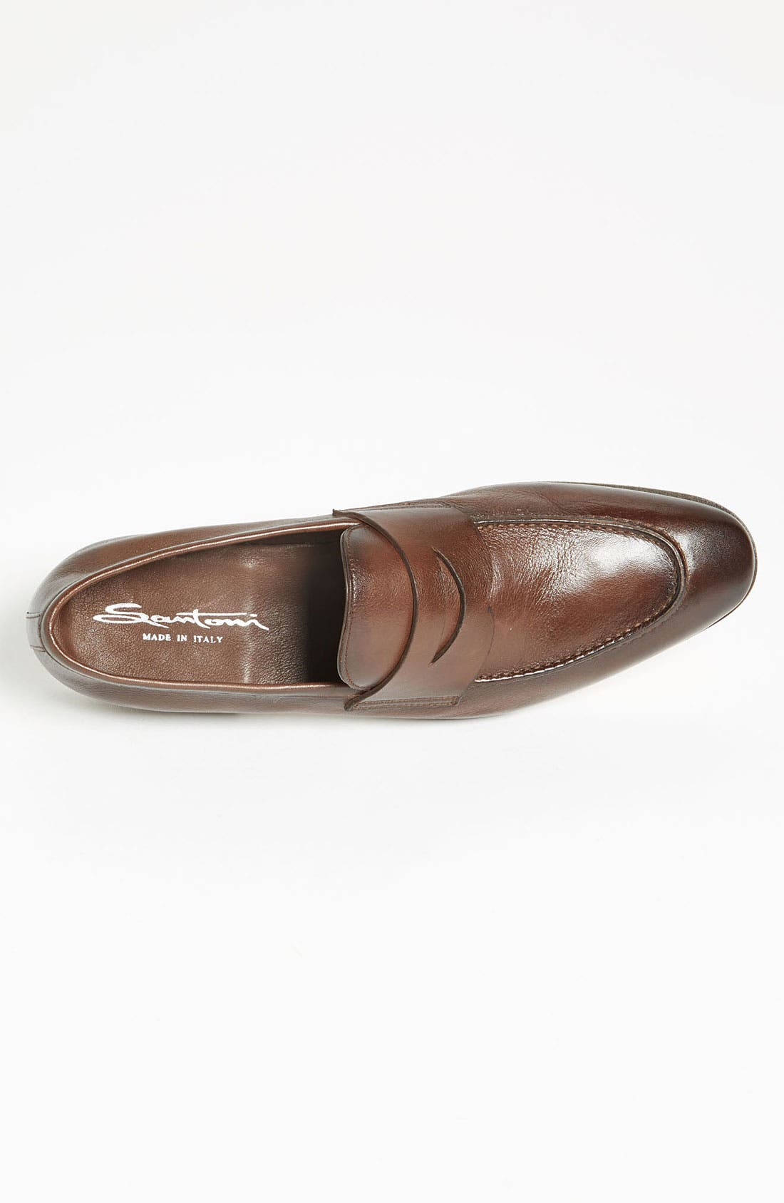 Alternate Image 3  - Santoni 'Tristan' Penny Loafer (Men)