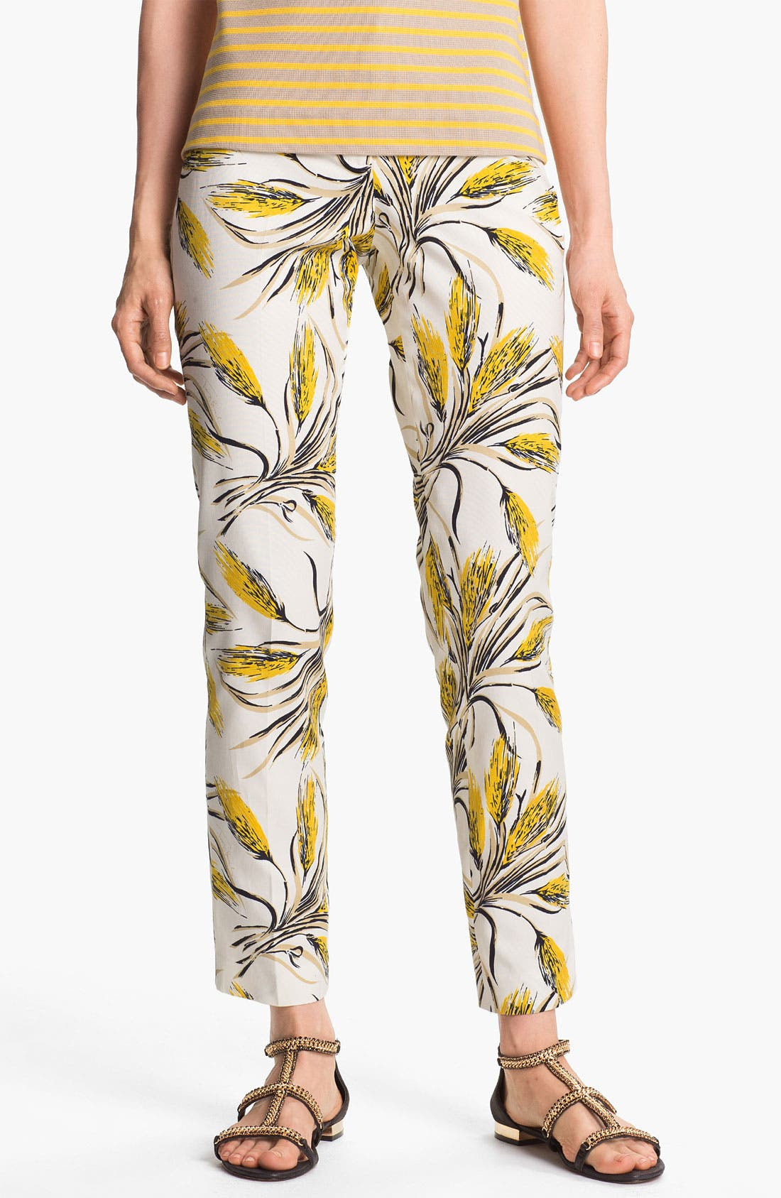 Alternate Image 1 Selected - Tory Burch 'Sullivan' Print Pants