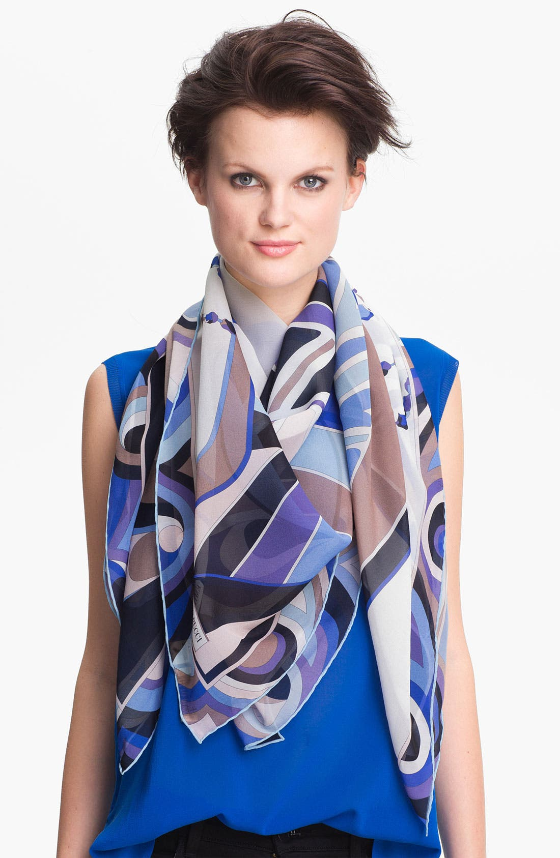 Alternate Image 1 Selected - Emilio Pucci 'One Profile Timeless' Silk Scarf