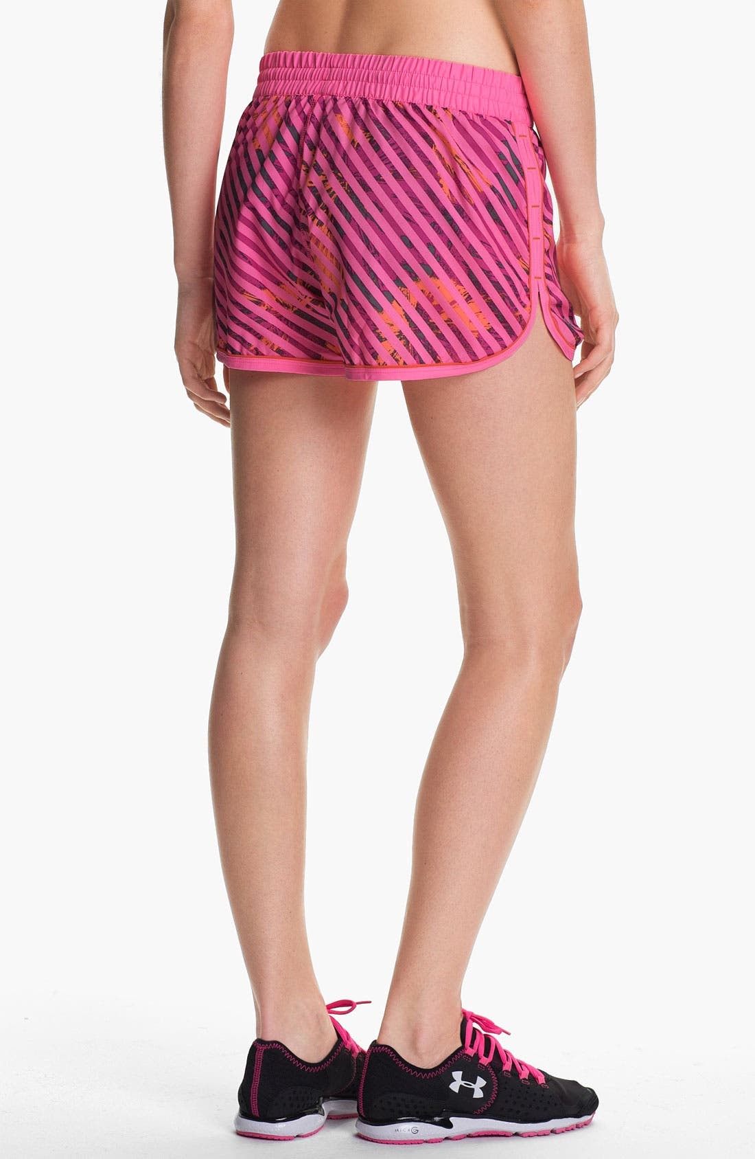 Alternate Image 2  - Under Armour 'Great Escape' Print Running Shorts