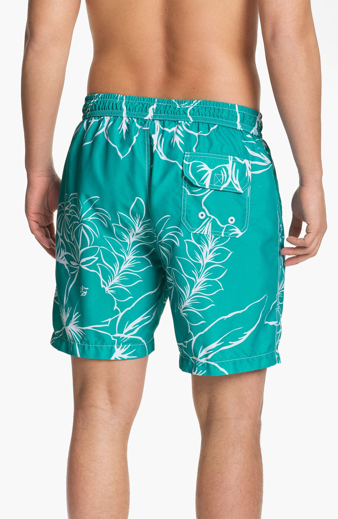 Alternate Image 2  - Tommy Bahama 'Bloom Over Miami' Swim Trunks