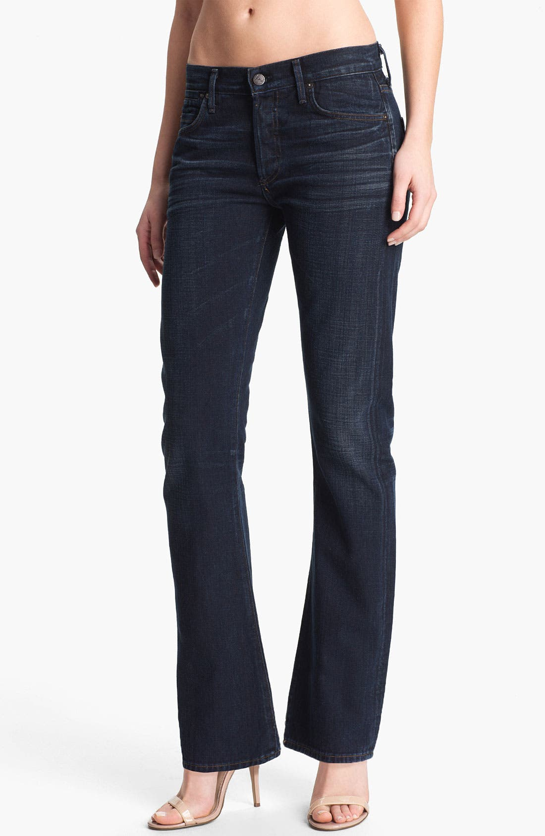 Alternate Image 1 Selected - Citizens of Humanity 'Riley' Boyfriend Bootcut Jeans