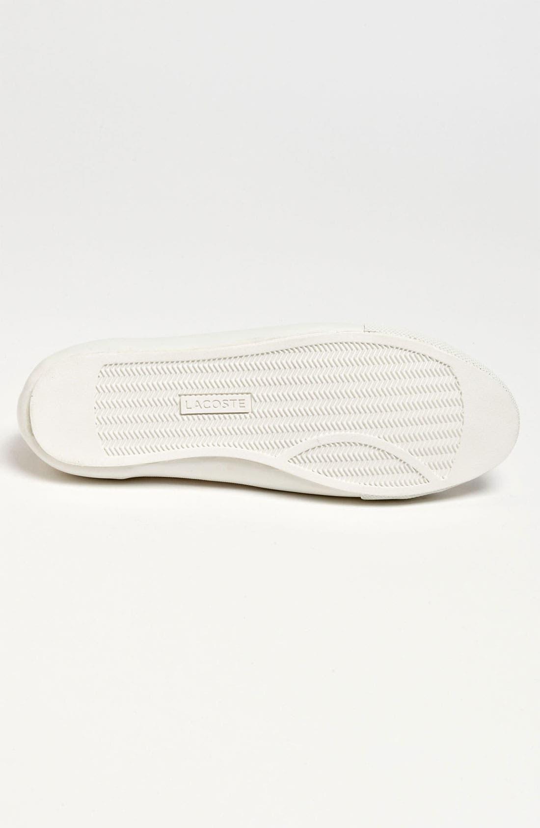 'Fairburn' Sneaker,                             Alternate thumbnail 4, color,                             Off White