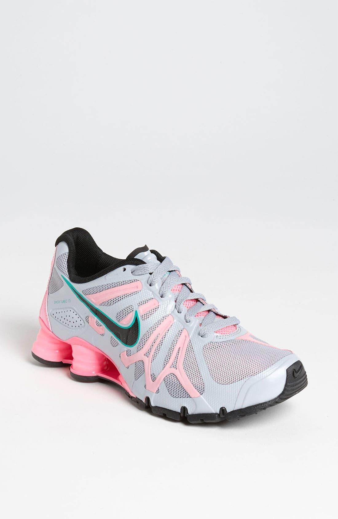 Alternate Image 1 Selected - Nike 'Shox Turbo+ 13' Running Shoe (Women)