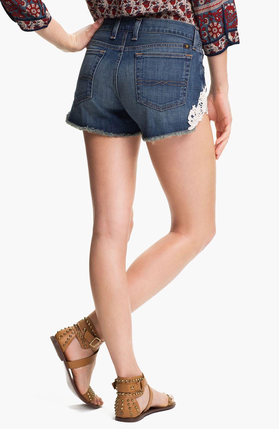 Alternate Image 2  - Lucky Brand 'Riley' Denim Shorts (Islip) (Online Exclusive)