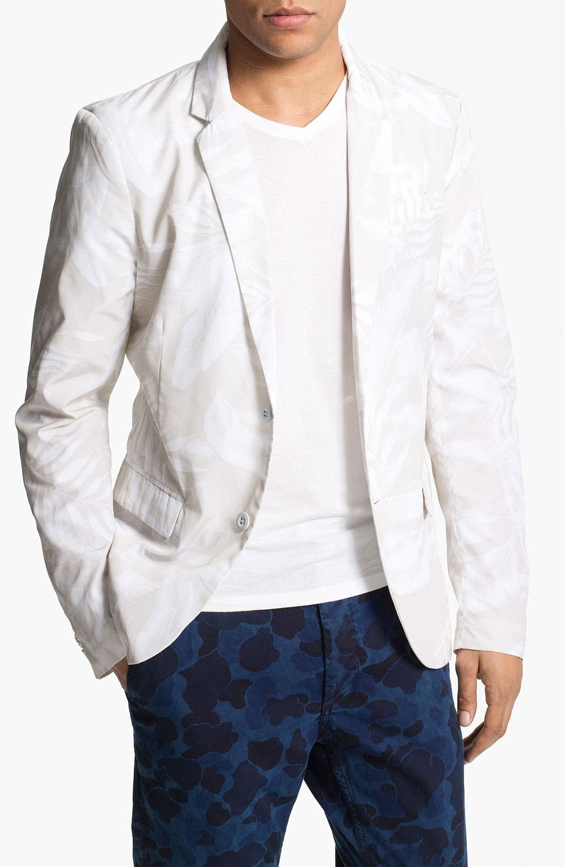 Alternate Image 1 Selected - DIESEL® 'Jristate' Print Blazer